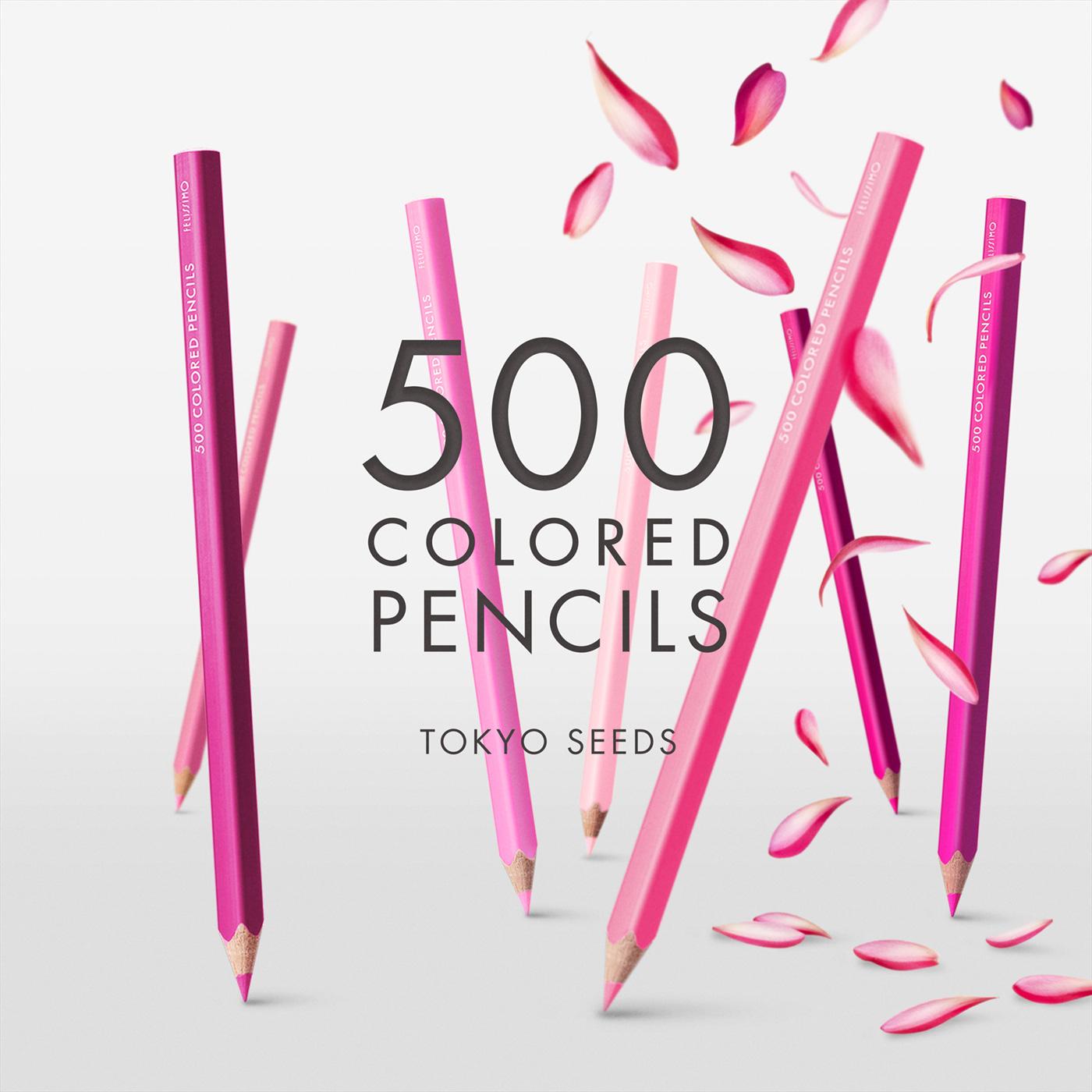 1992年、世界初の「500色」という膨大な色数の色えんぴつが誕生して以来、その販売数は発売当初から合わせると、世界55ヵ国10万セット以上。今回、メイド・イン・ジャパンにこだわり、すべてが新しく生まれ変わって登場しました。