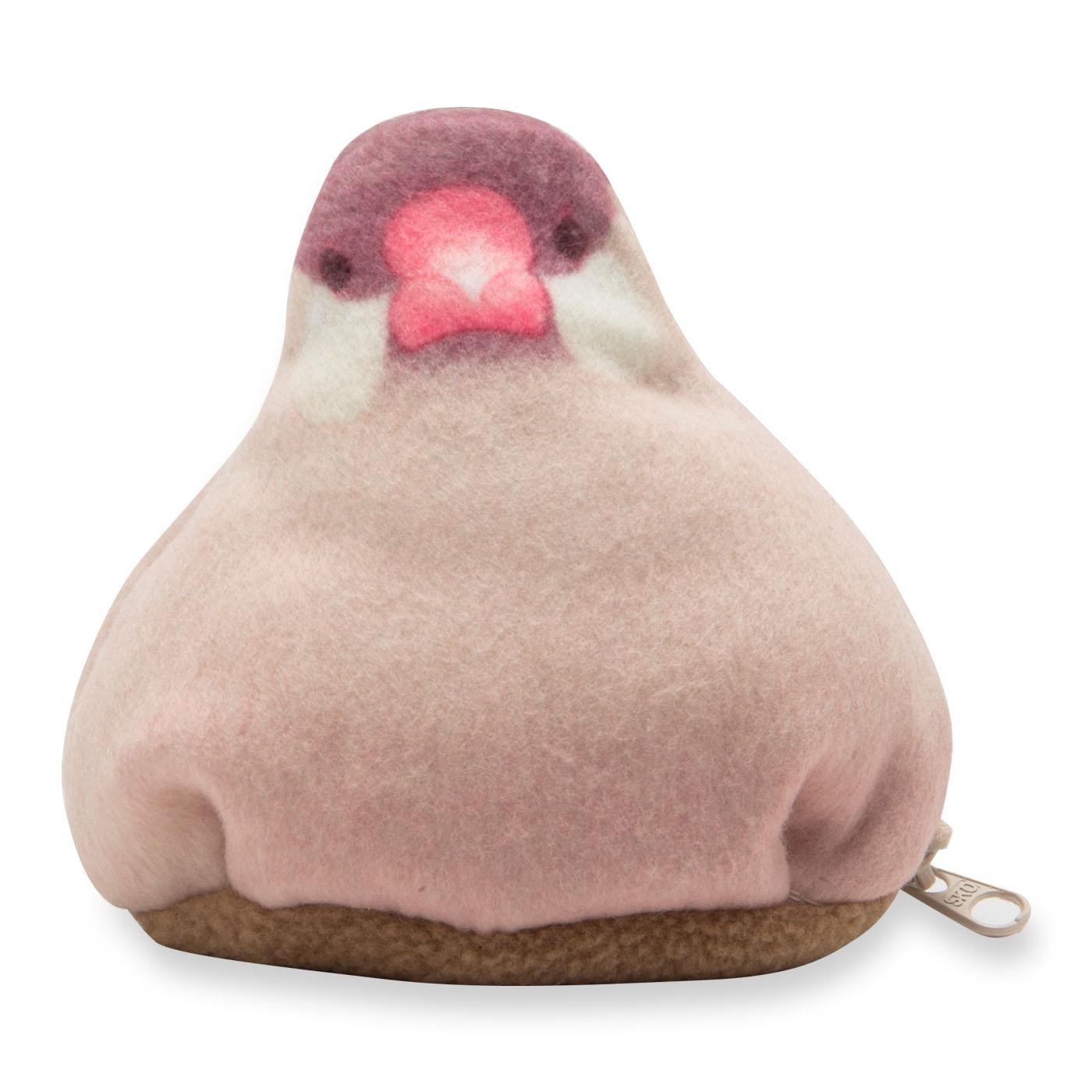 〈シナモン文鳥〉