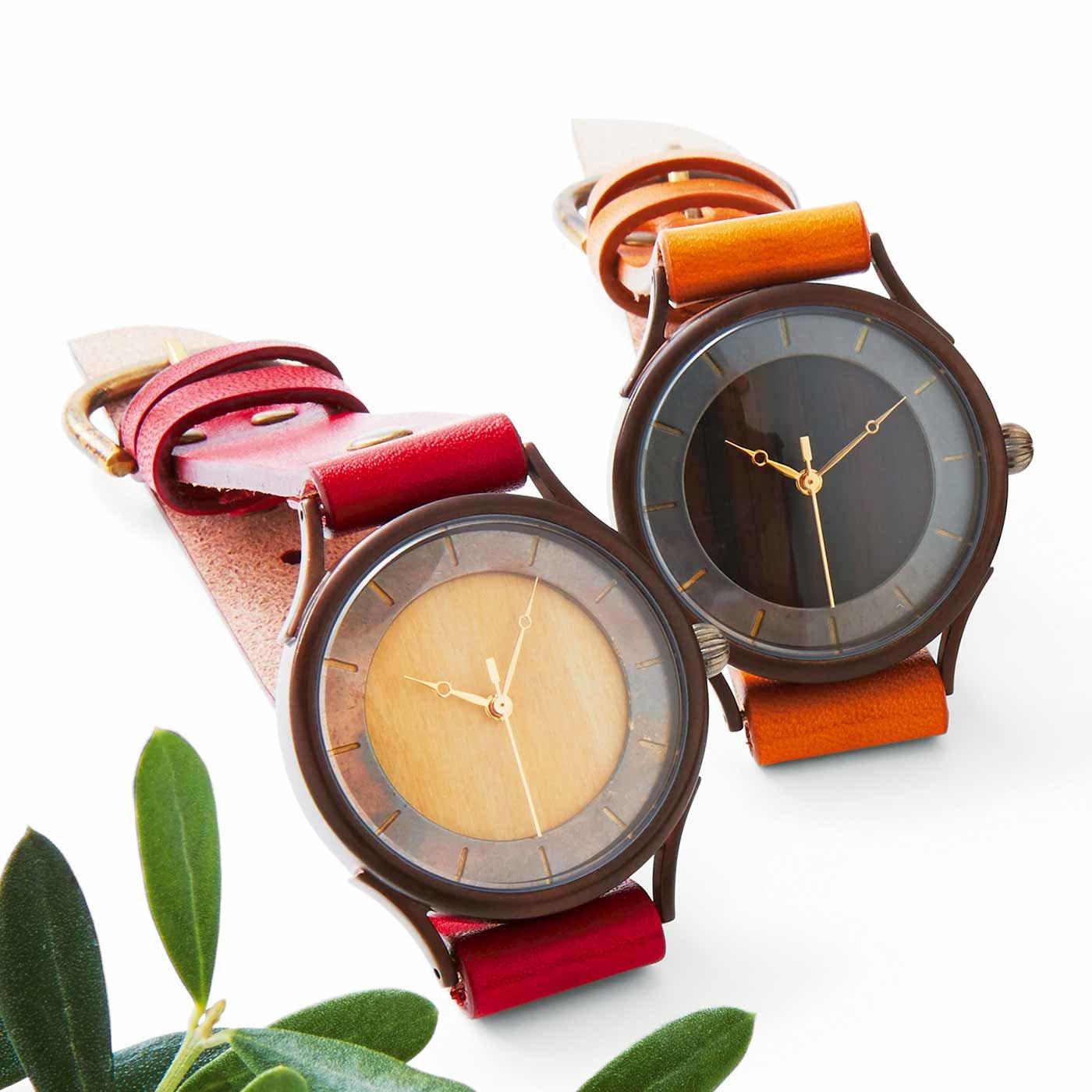 vie(ヴィー) ハンドメイド腕時計(プレート)