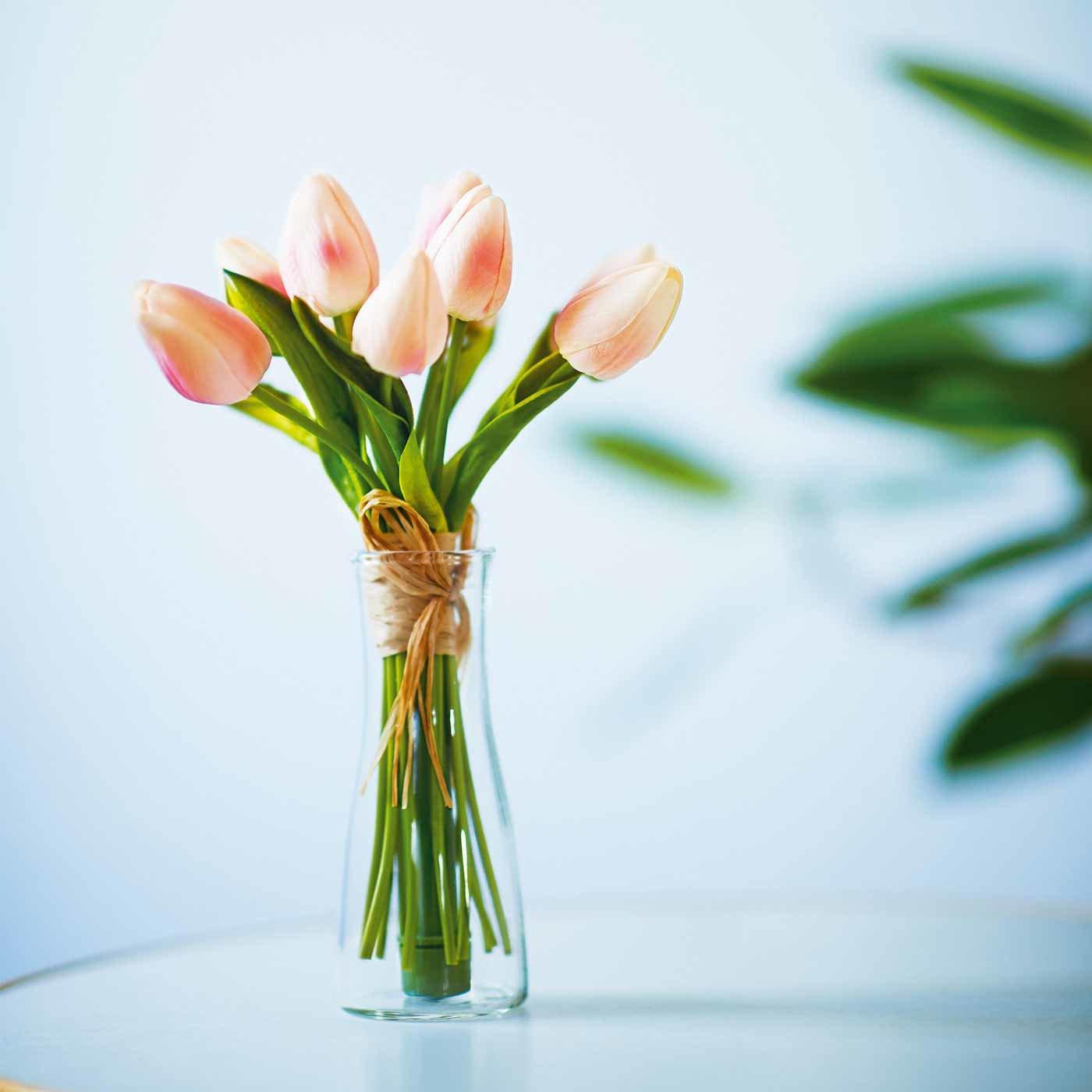 やさしく光るお花をモチーフにしたフラワーLEDライト