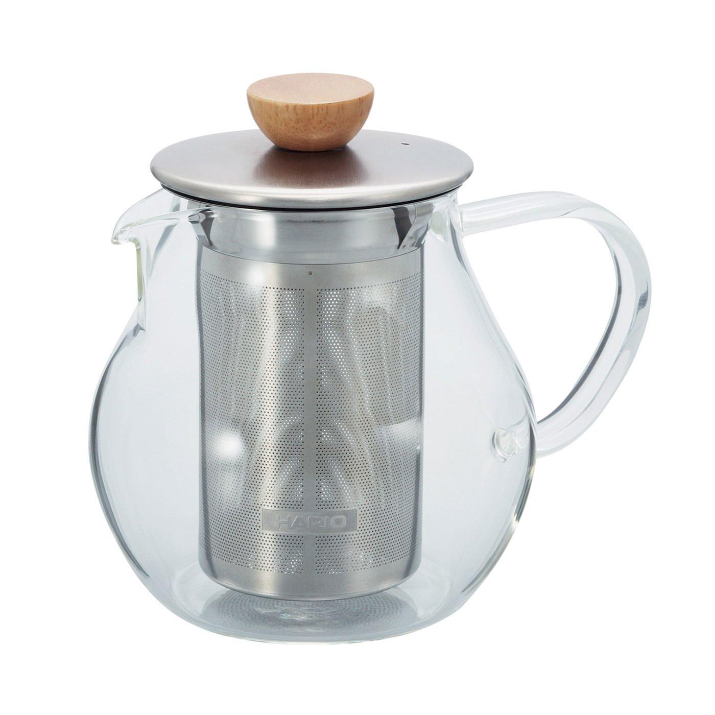 カジュアルにお茶を楽しむ ストレーナー付きティーピッチャー