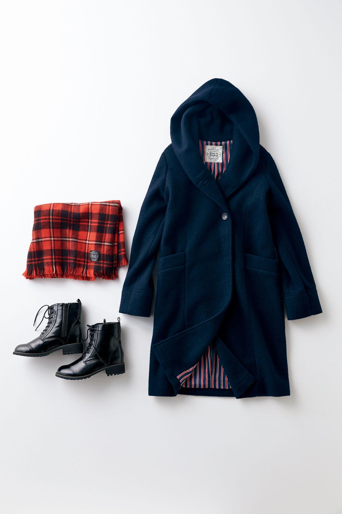 「首元のボリュームが素敵な大人可愛いコートです。」byはまじ はまじが今年イチオシするゆるシルエットと長め丈。バランスが取りやすく、しっかり暖か。