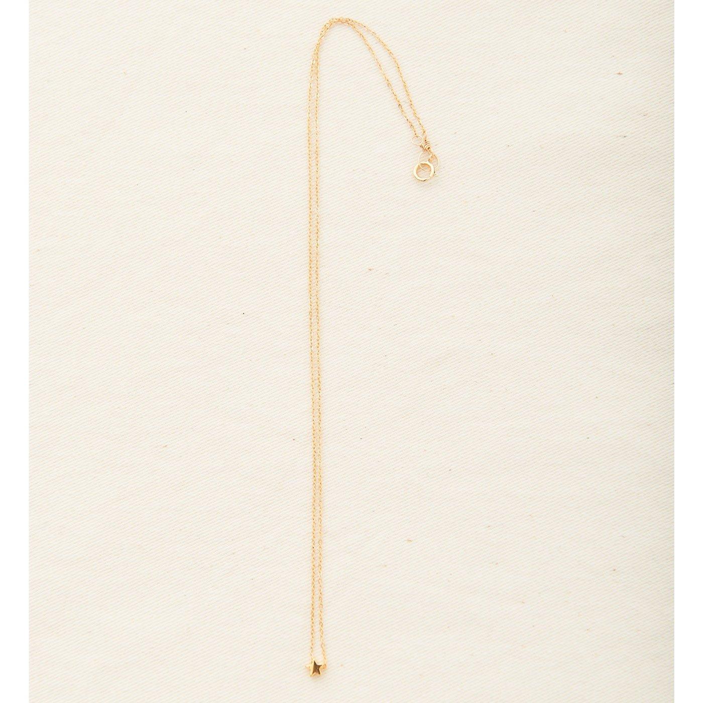IEDIT[イディット] SELECT mimi&lu きらりと輝くスターモチーフネックレス〈ゴールド〉