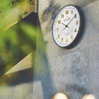 フェリシモ 壁掛け式電波時計〈ゴールド〉