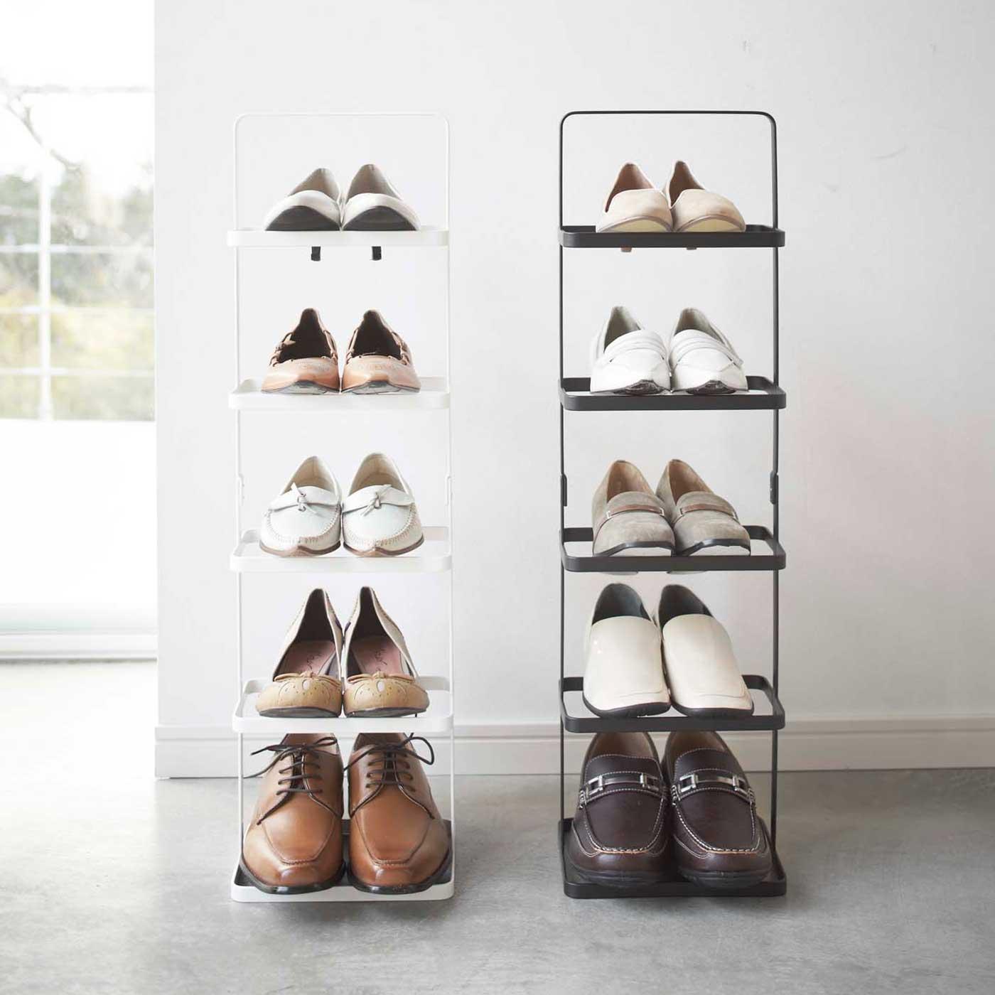 男性用と女性用の靴どちらも綺麗に収まるサイズ。