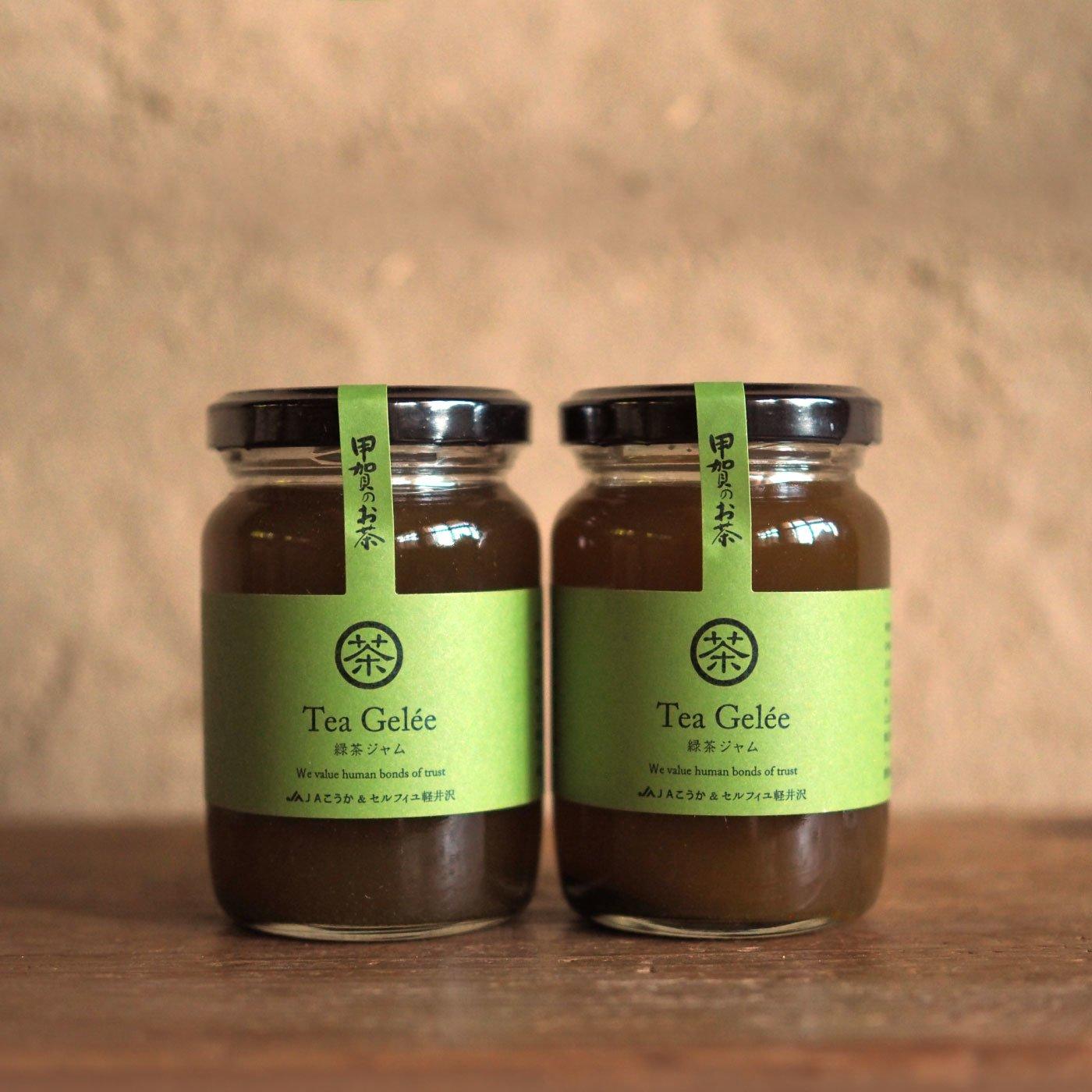 純農 蜂蜜と緑茶がとろけあう 至福の緑茶ジャムの会