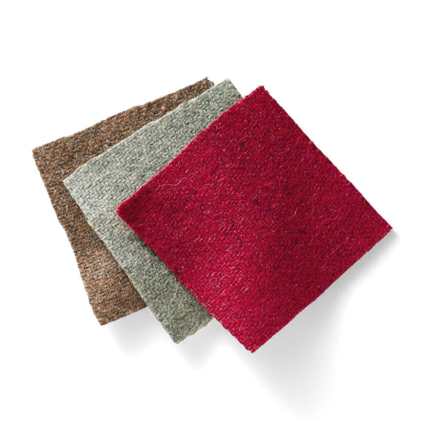 こっくり大人カラーで使いやすい布地。