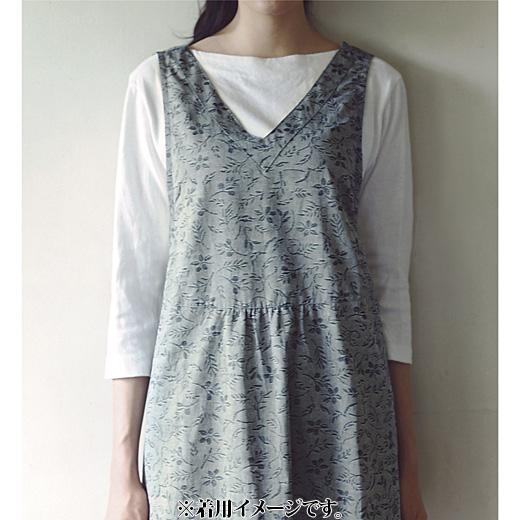 軽やかな着用感の綿素材。