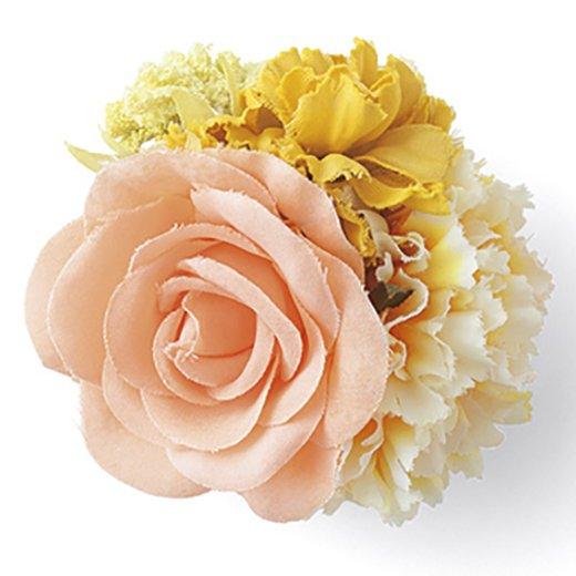 いつでも華やか つなぐと花かんむりになる ヘアアクセサリー