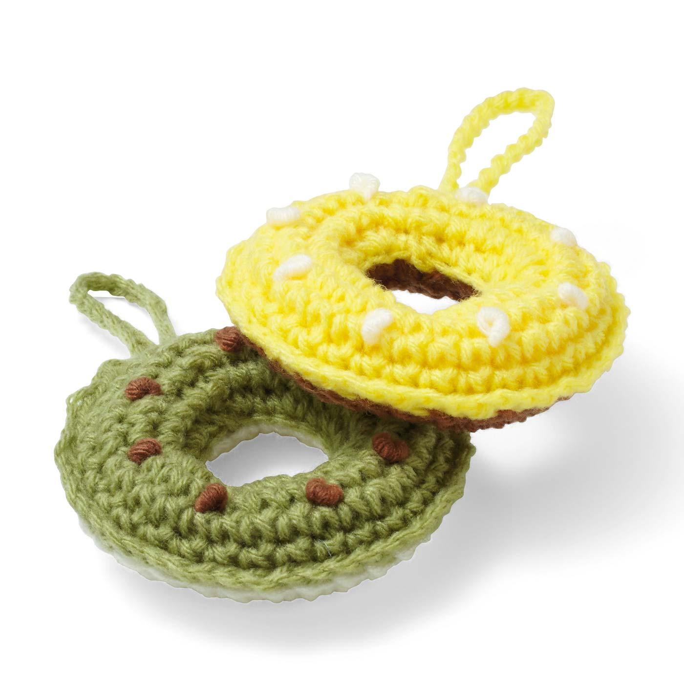 バナナとグリーンティーのドーナツ 直径約9.5cm