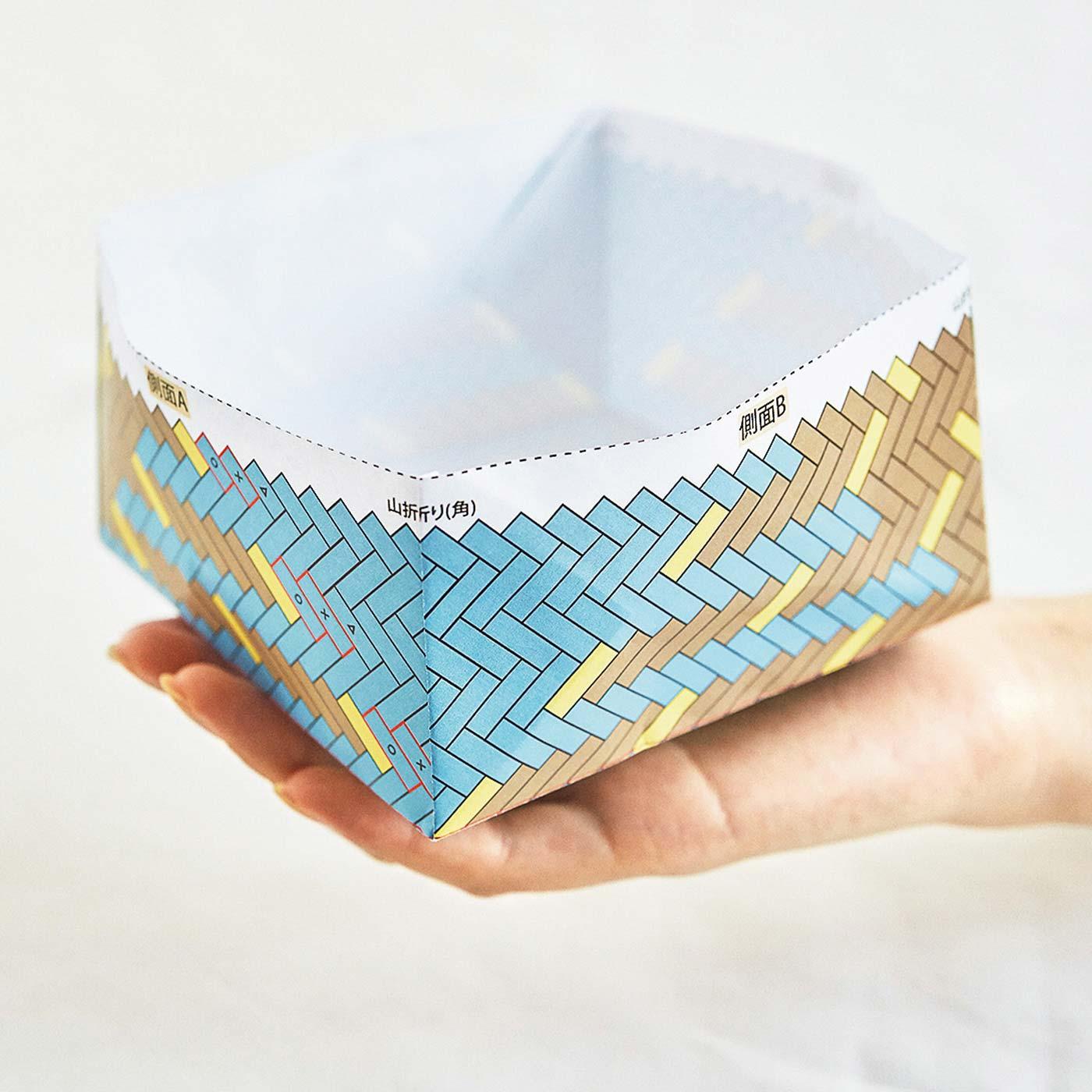 側面の完成イメージがつかみやすい模型付きのデザインもあります。