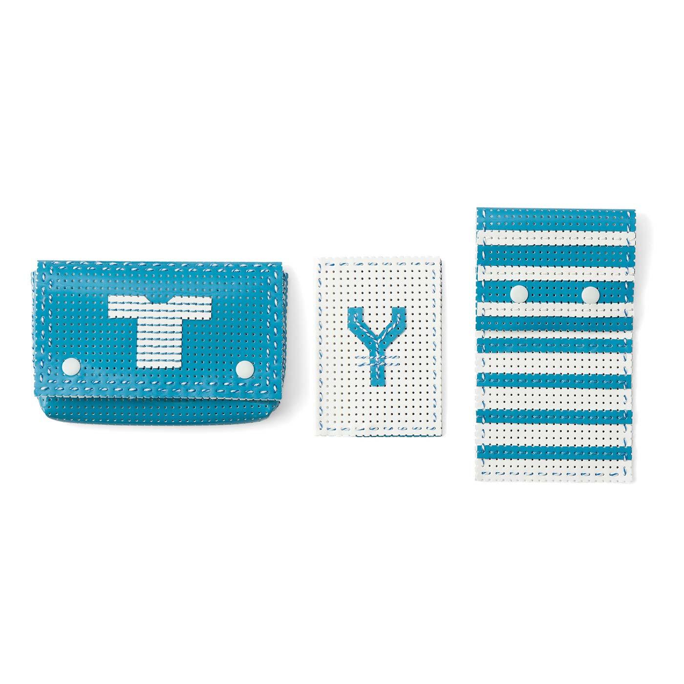 Petits accessories de sac(プティ・ザクセソワール・ドゥ・サック)(ケースセット) 横長ケース:縦約8cm、横約14cm、まち幅約2cm など