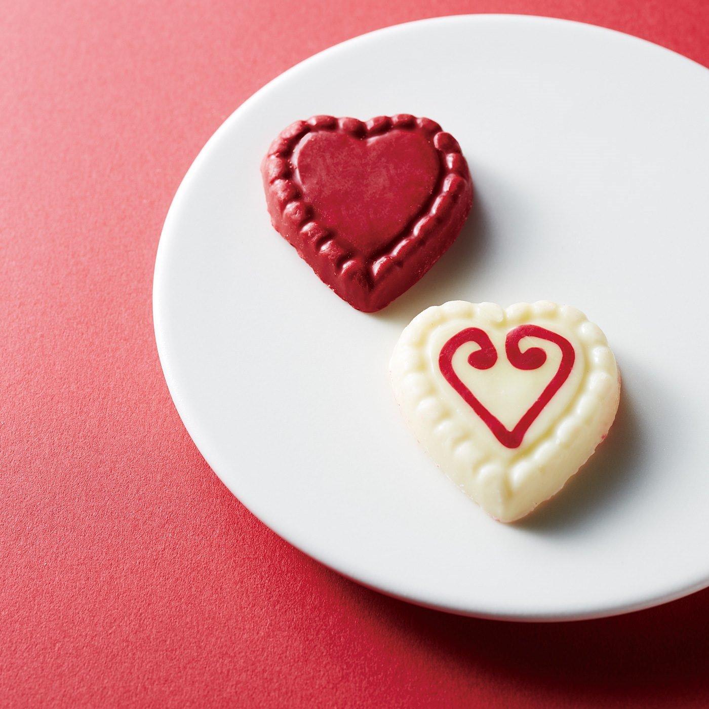 【2月お届け便】ブルスナチョコレート プチハートセット