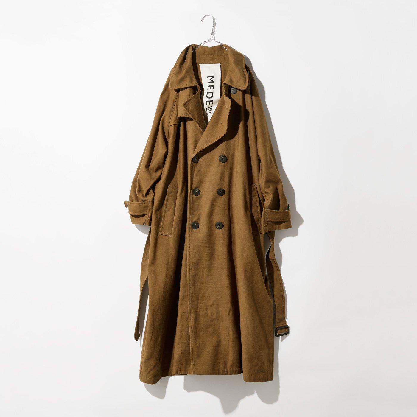 MEDE19F 古着屋でみつけたようなオーバーサイズトレンチコート