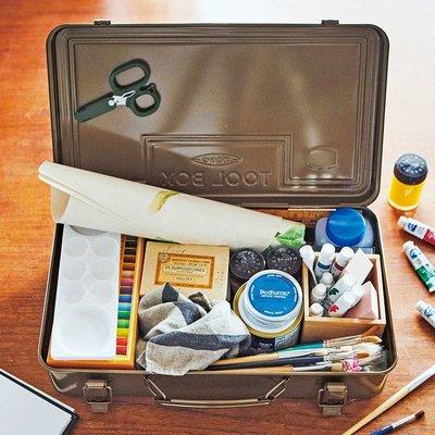 RoomClip商品情報 - トランク型スチール工具箱〈珈琲ブラウン〉 フェリシモ FELISSIMO