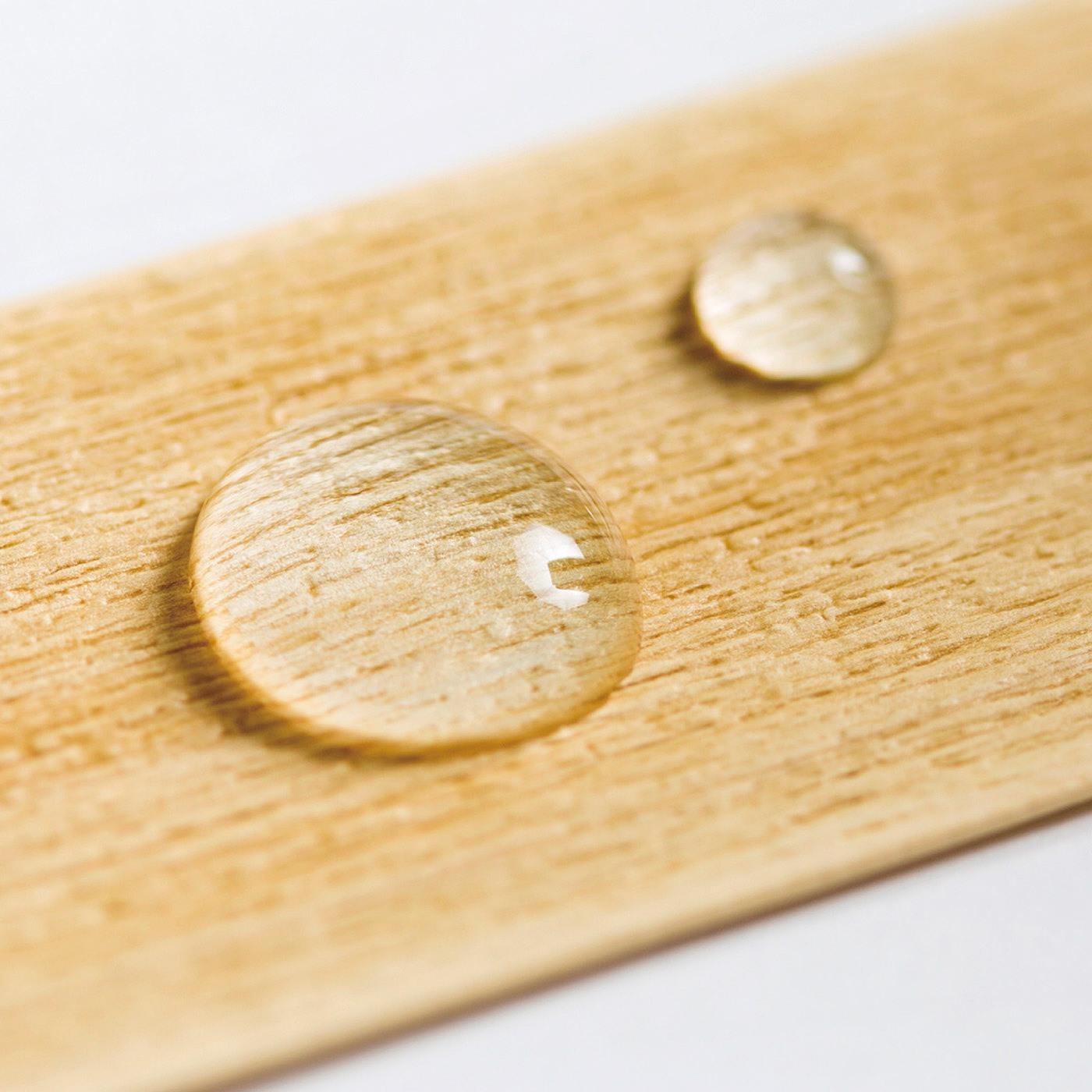 水や湿気に強いから、キッチンや水まわりでも大活躍。