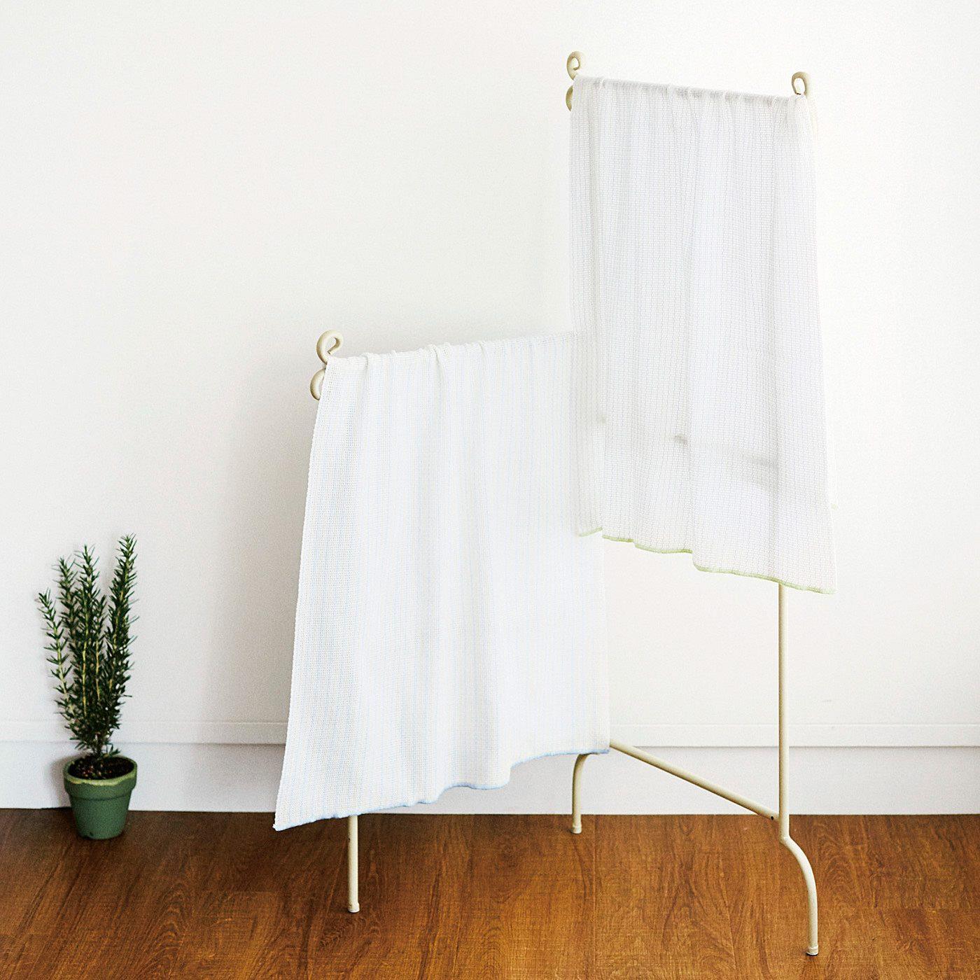 コンパクトサイズで部屋干しでも場所を取らず、収納も省スペースでOK。