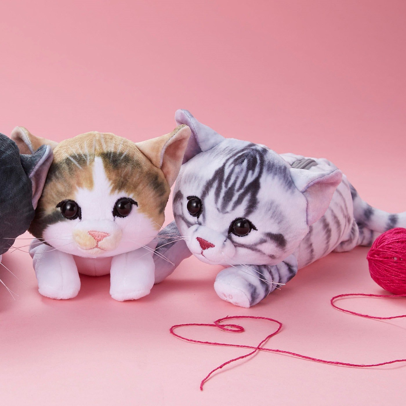 YOU+MORE! 夢のもちふわ触感 もっちり子猫ポーチの会
