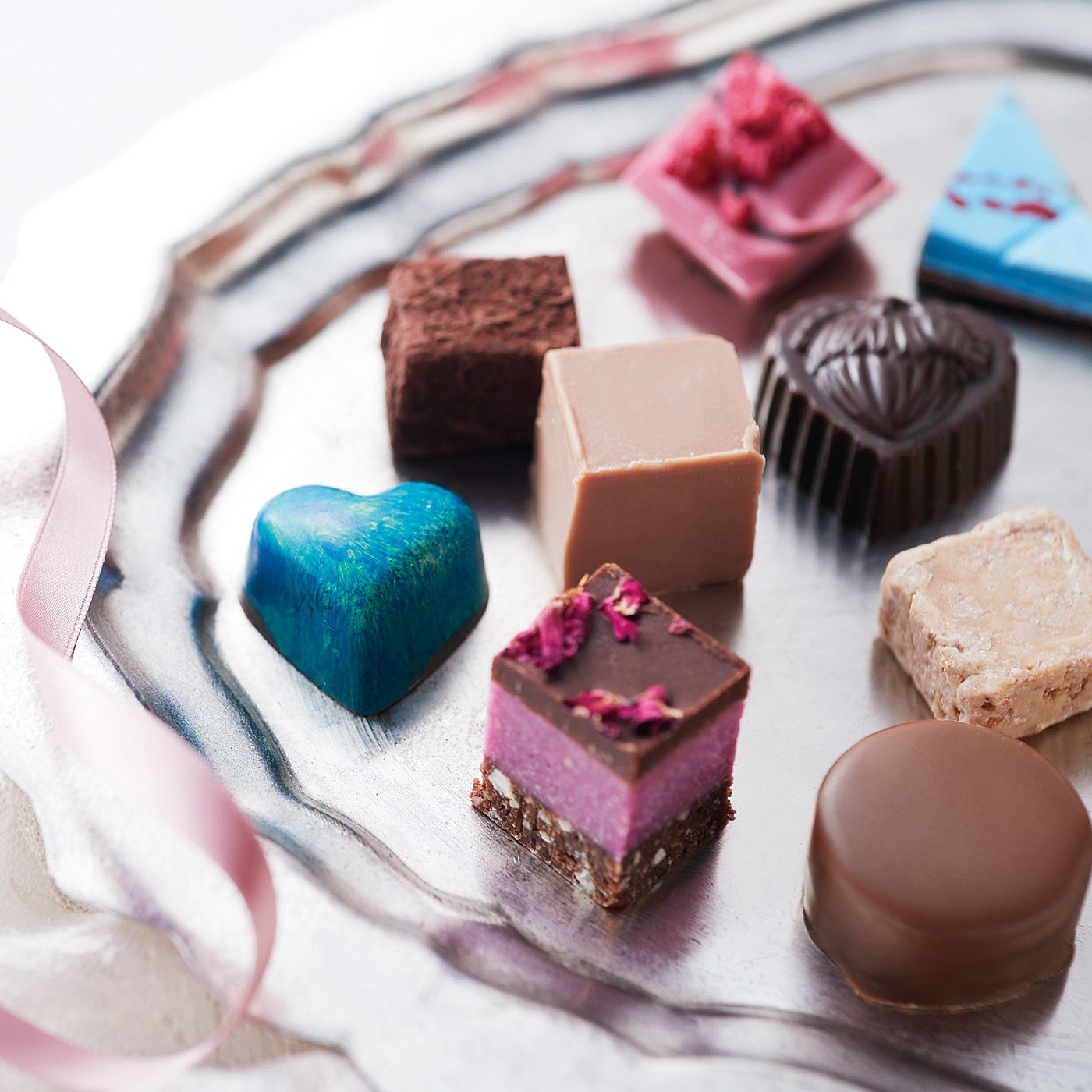 幸福のチョコレート講座 試食チョコセット(9粒入り) 〈人気ランキングコース〉