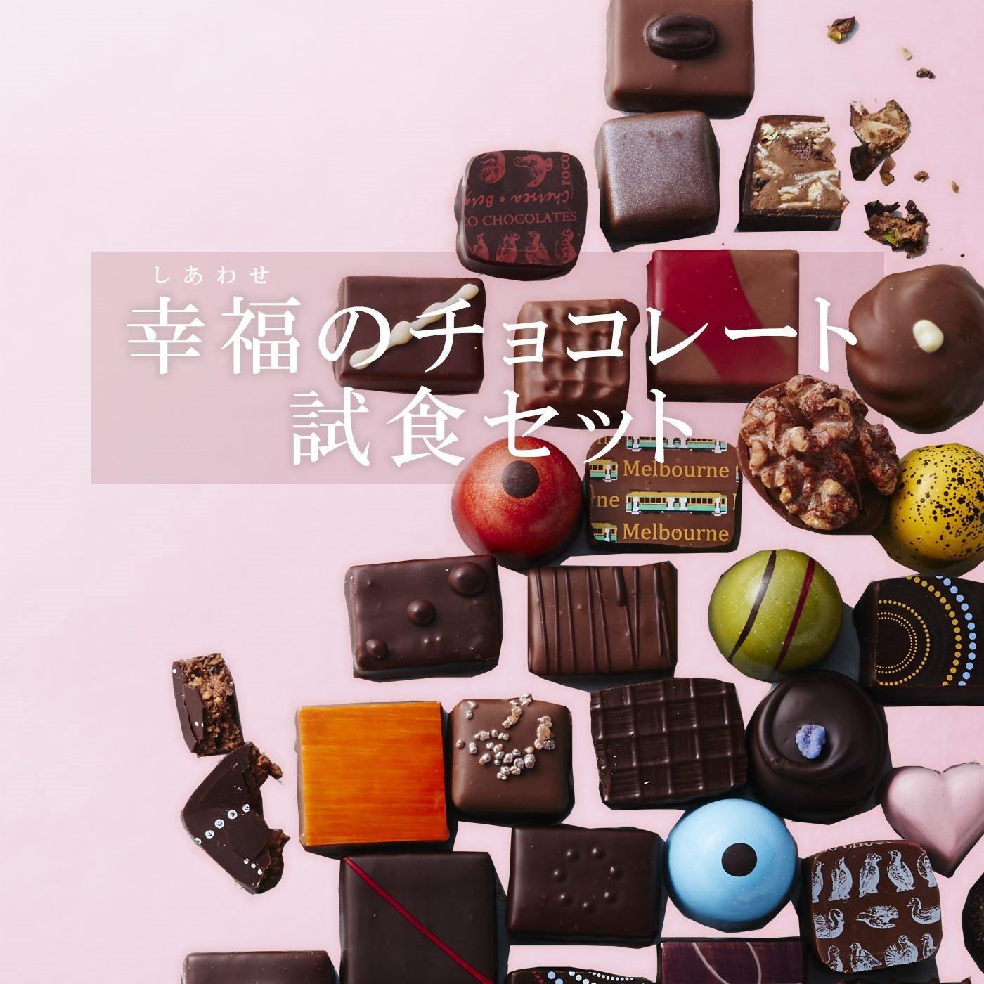 幸福のチョコレート講座 試食チョコセット(9粒入り) 〈新商品シークレットコース〉