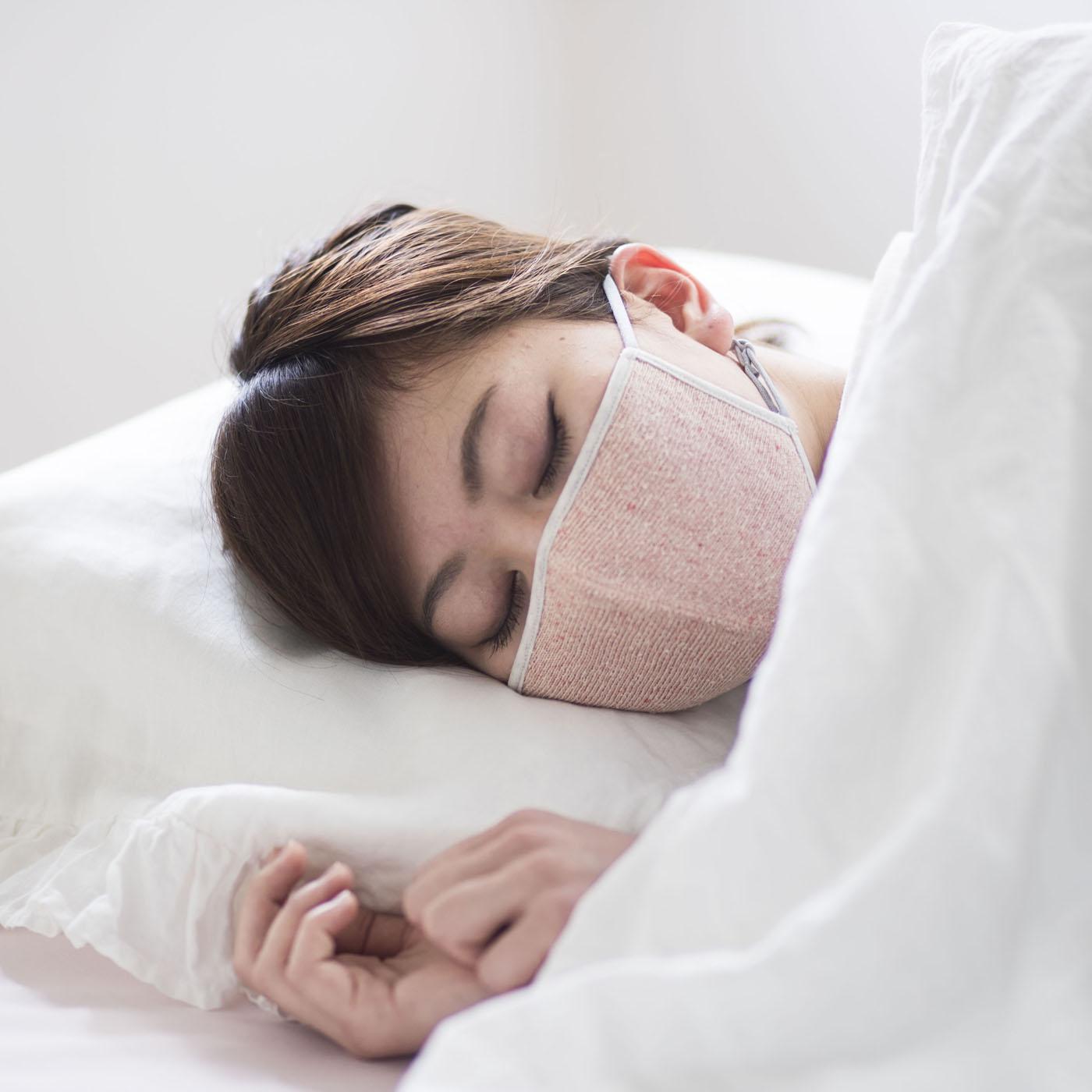 エアコンの乾燥が気になるときや、おやすみ時にもおすすめ。