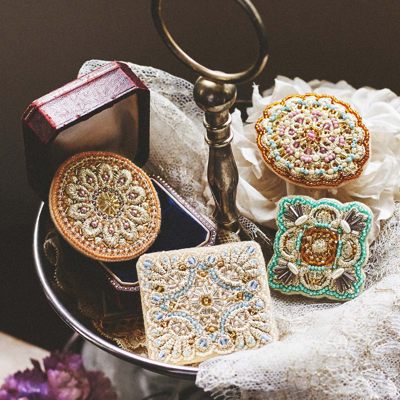 宝石箱のような美しさ。