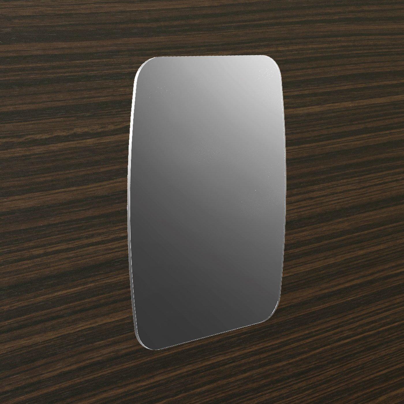 浴室の壁に貼り付く 磁着SQ マグネットバスミラー