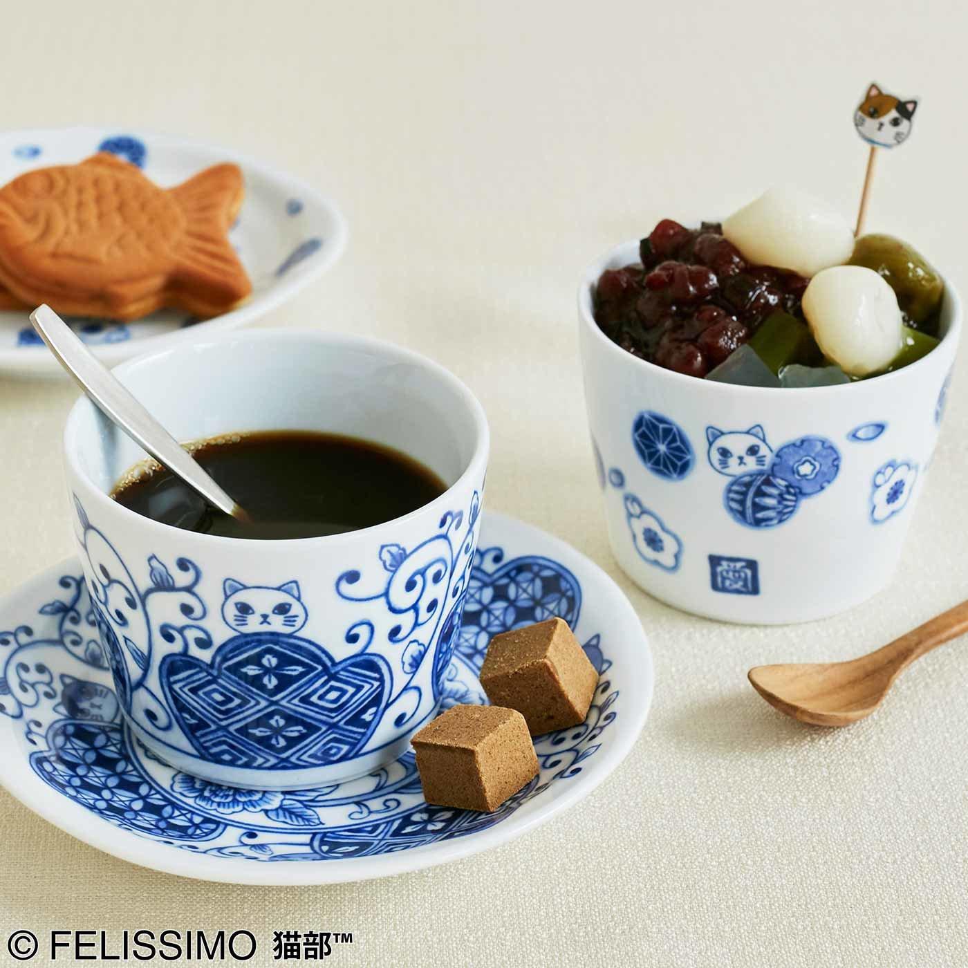 猫部×佐賀有田焼で楽しむ「カフェインレス猫珈(ねこ)」こざらとそばちょこの会
