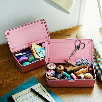 RoomClip商品情報 - 老舗工場で作られるミニスチール工具箱〈レトロピンク〉 フェリシモ FELISSIMO