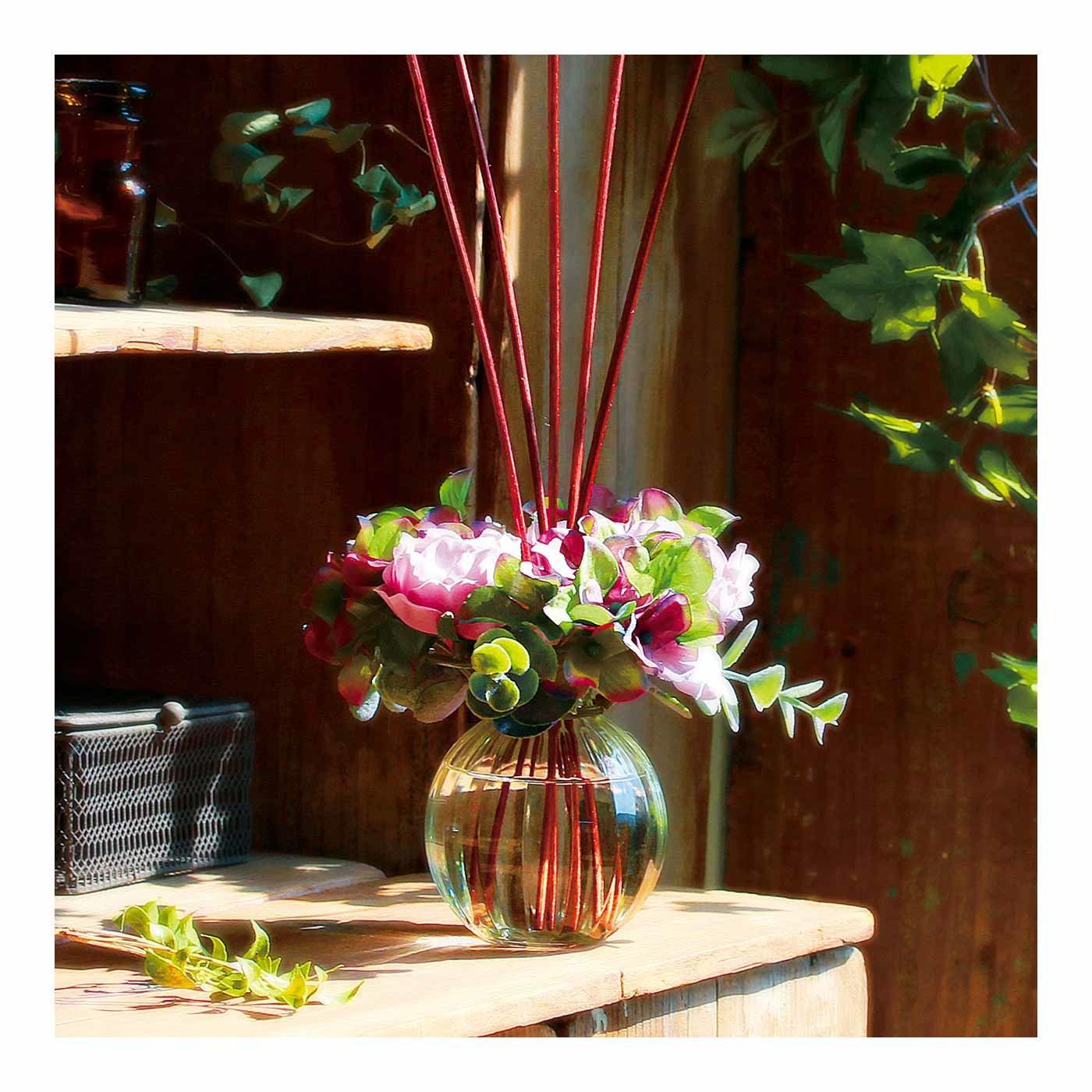 まるでお花を飾るように フラワーリースディフューザー「BEAUTE(ボーテ)」