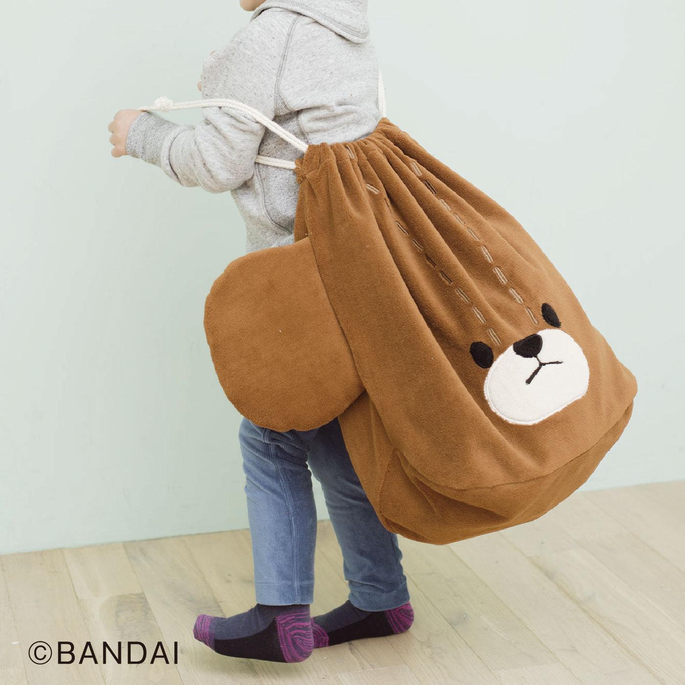 特製収納袋は抱きしめたくなるかわいさ!