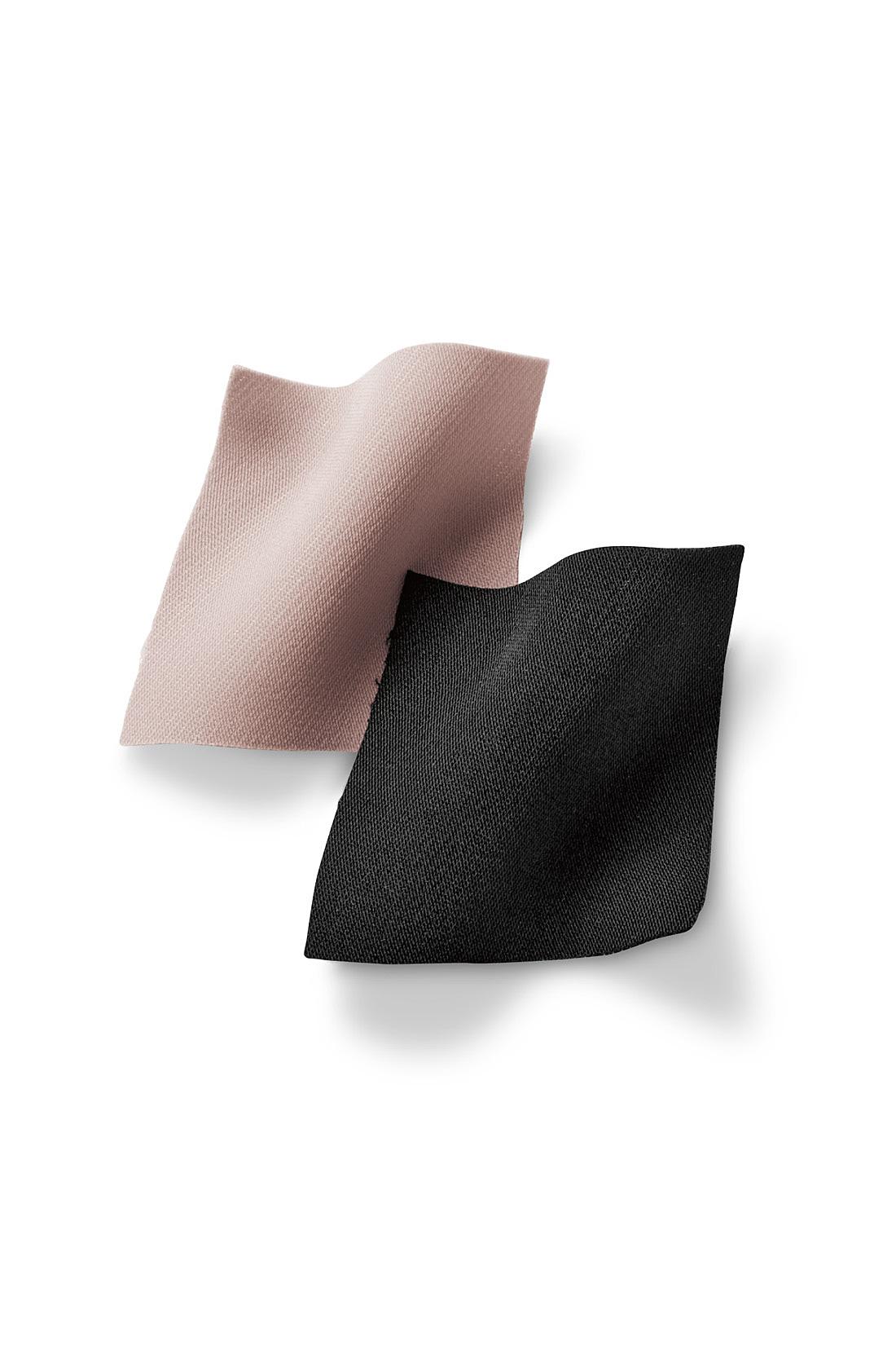 とろみのある厚手の布はく素材を使用、美しい落ち感を保ちながら上質素材のしなやかさが楽しめます。