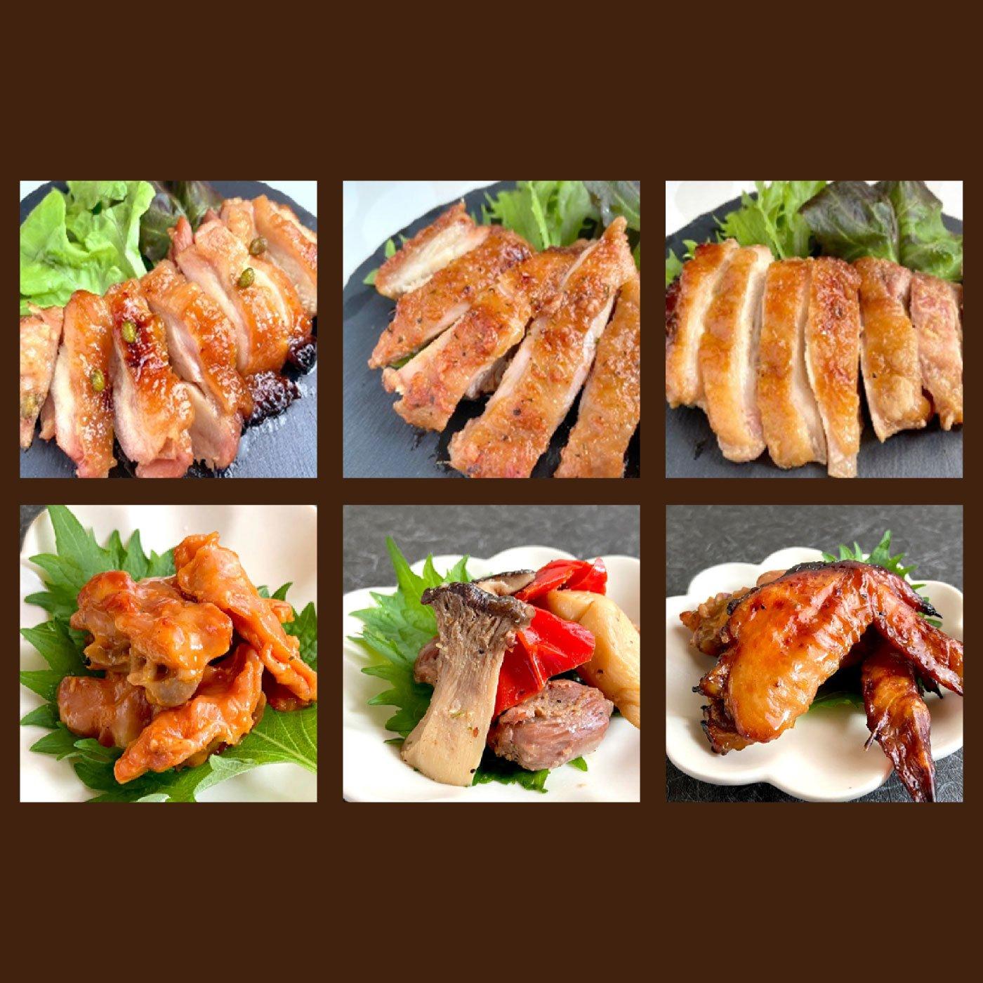 串惣 鳥取県産鶏肉使用のチキンステーキとおつまみセット