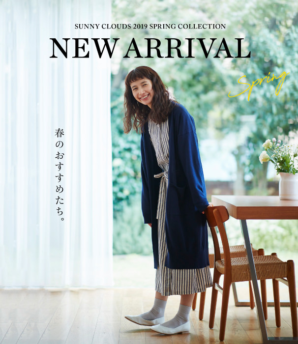NEW ARRIVAL Spring 2019