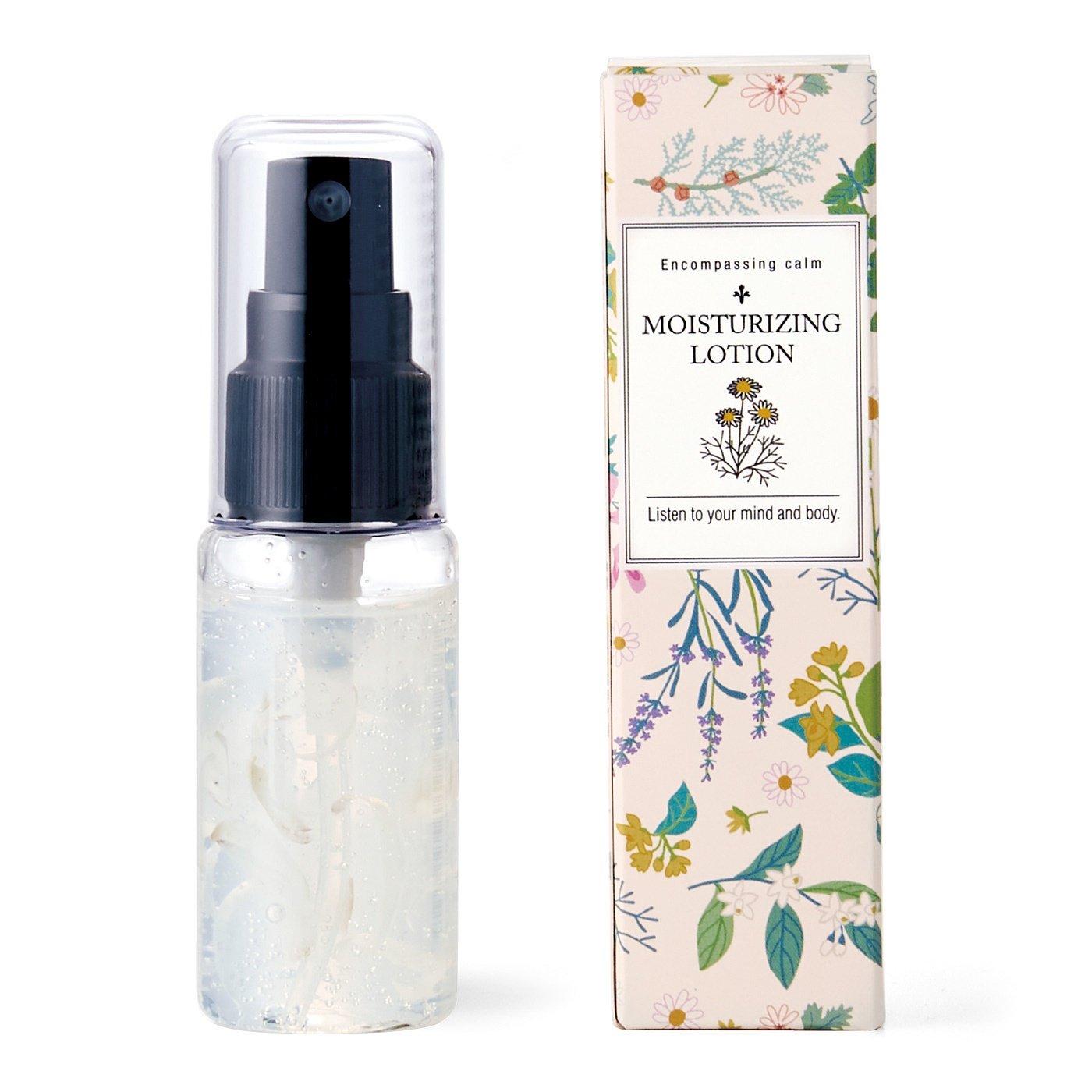ゆらぐ心に花を ハーブの香りに包まれて 心うるおう花化粧水