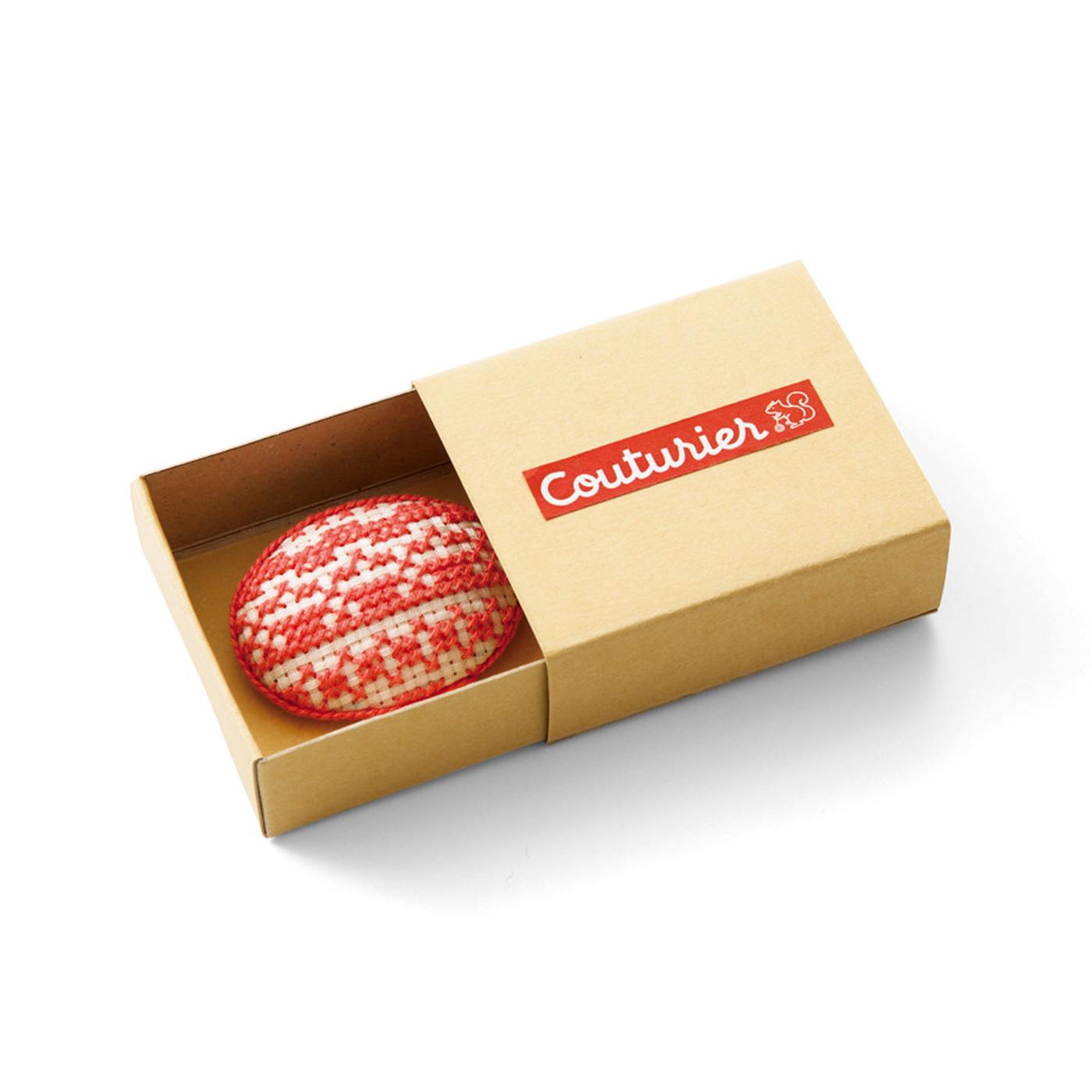 組み立て式のボックス付き。収納やプレゼントにかわいい。