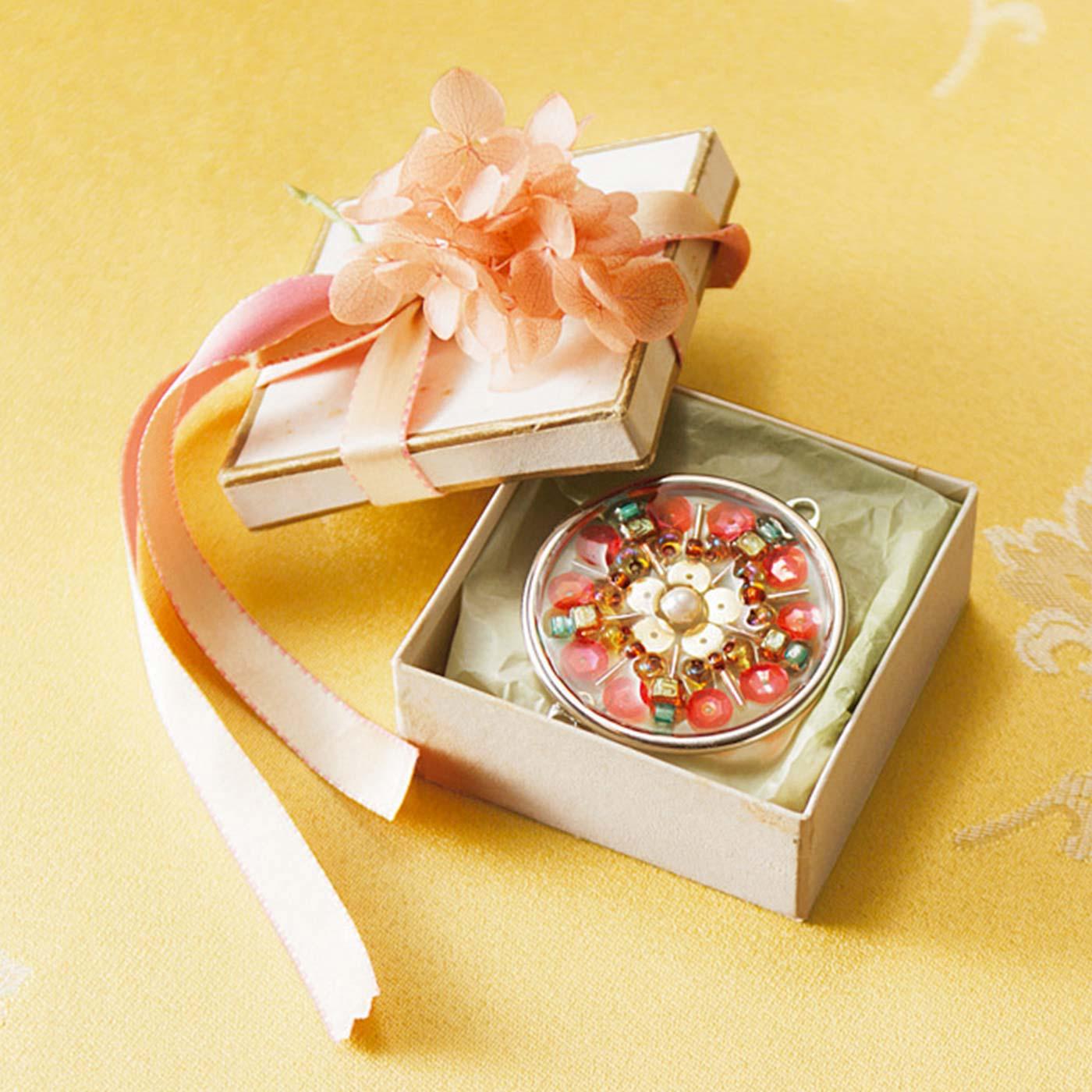 小箱に入れて、プレゼントにしてもかわいい。