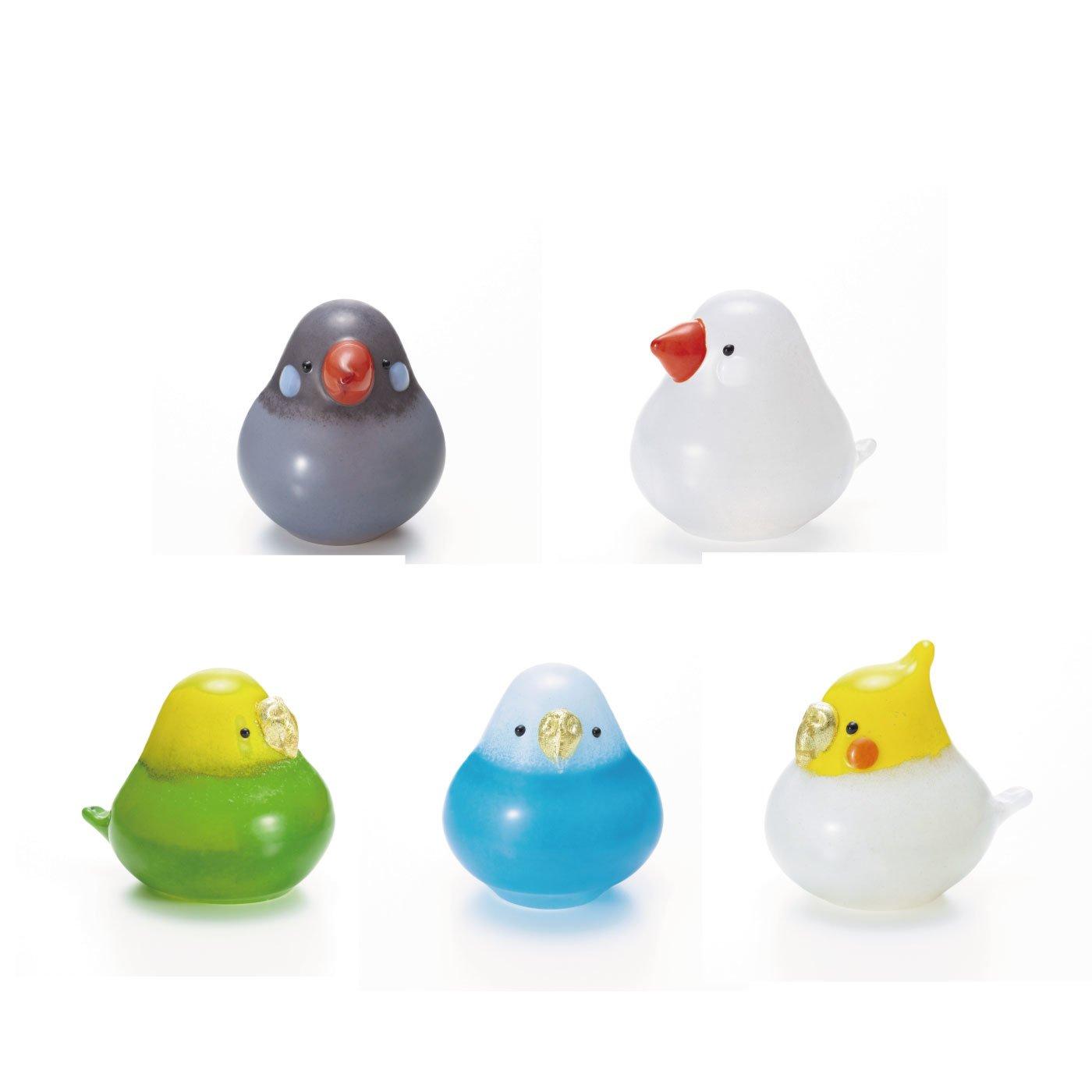 日本の職人が1点1点丁寧に作った世界に一つだけのガラスの小鳥オーナメント
