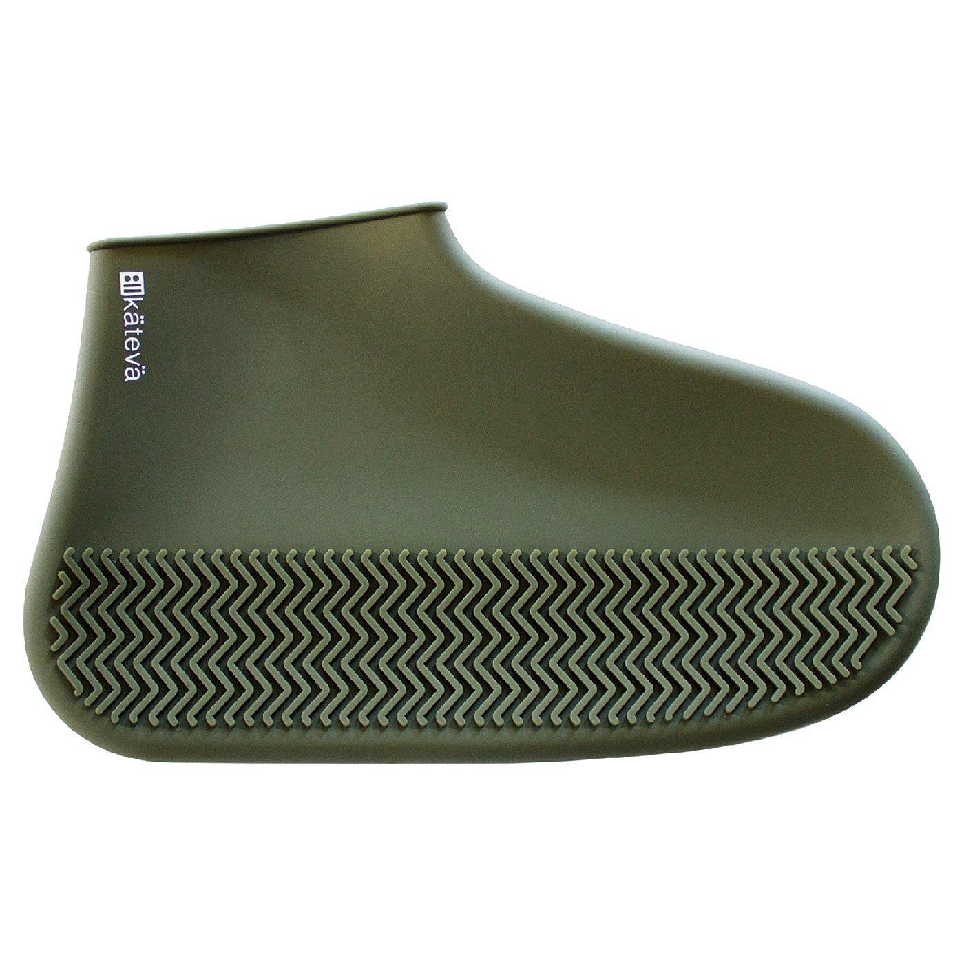 KATEVA 履いている靴にかぶせるだけ! 雨の日シリコンシューズカバー(Mサイズ)