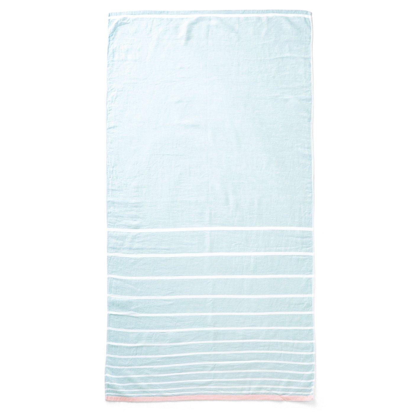 サンクチュアリ 綿100%無撚糸ガーゼに包まれる ロングブランケットタオルの会