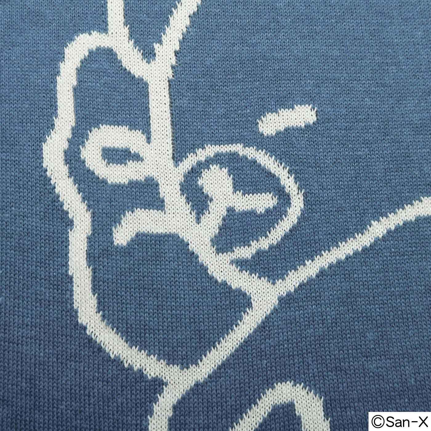 編み柄で細かく表現されています♪