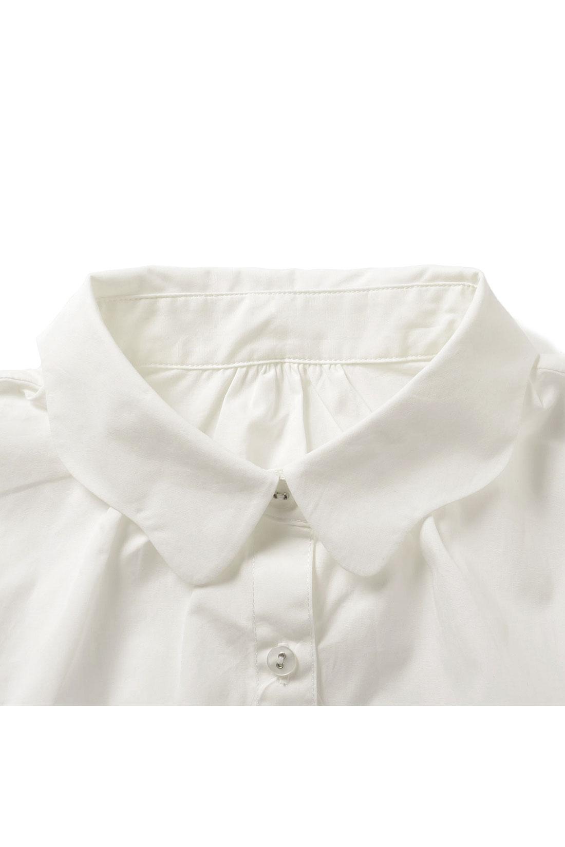 毎回大人気のなみなみ衿。ふわっとしたシルエットがかわいいね。