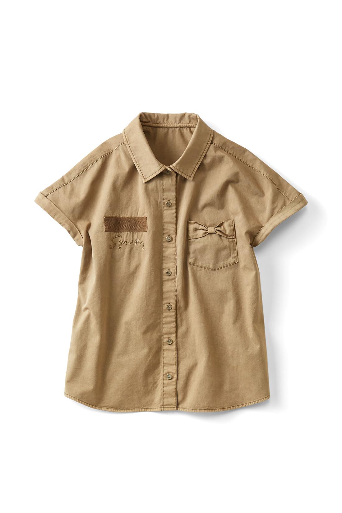 Tシャツの上からはおってもかわいい。