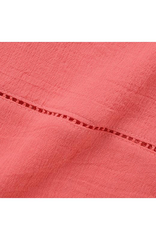 綿の揚柳(ようりゅう)素材は、汗をかいてもべたっと肌にまとわりつかなくて、気持ちいい!