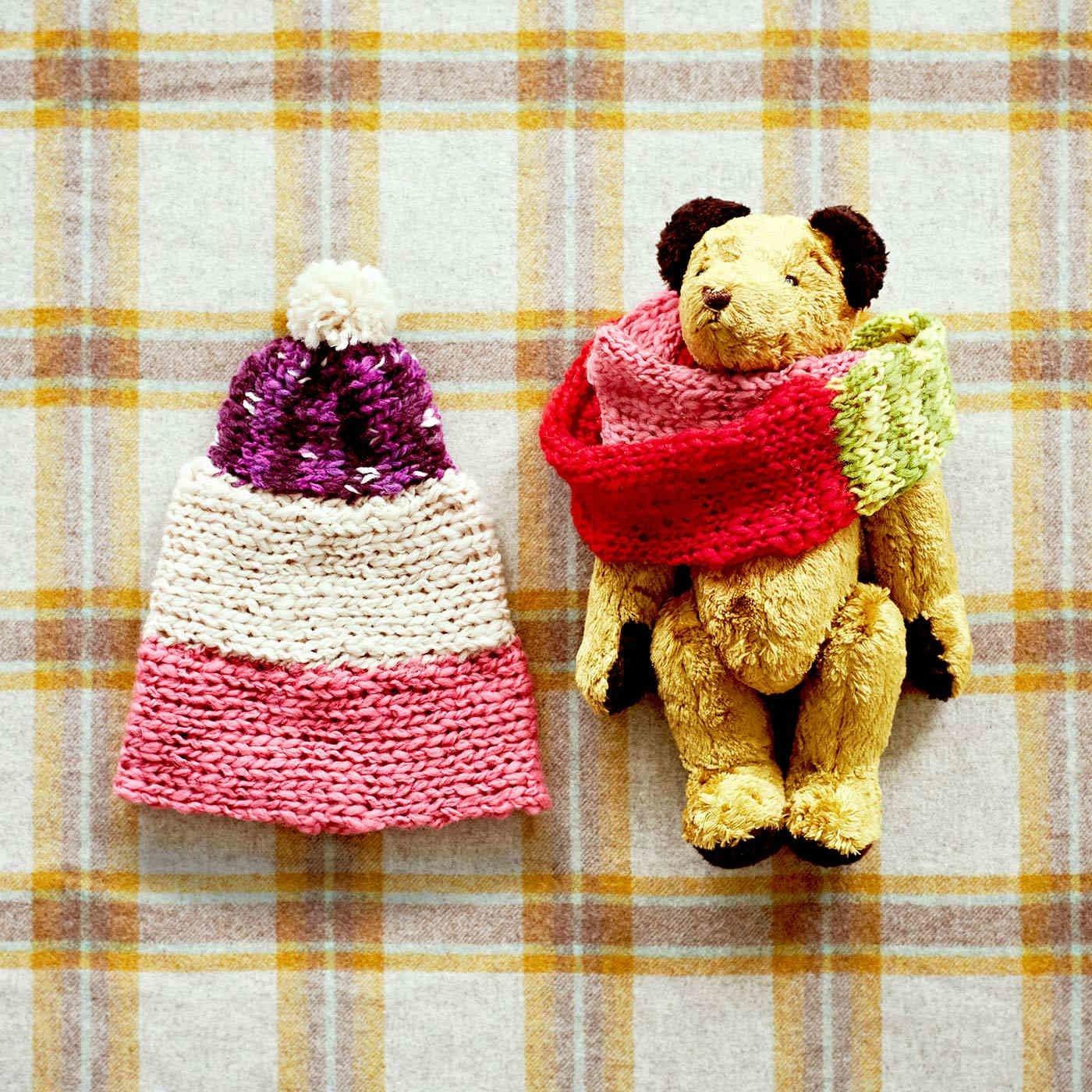 ママと一緒にやってみよう! 宝物が完成 プレート編み小物