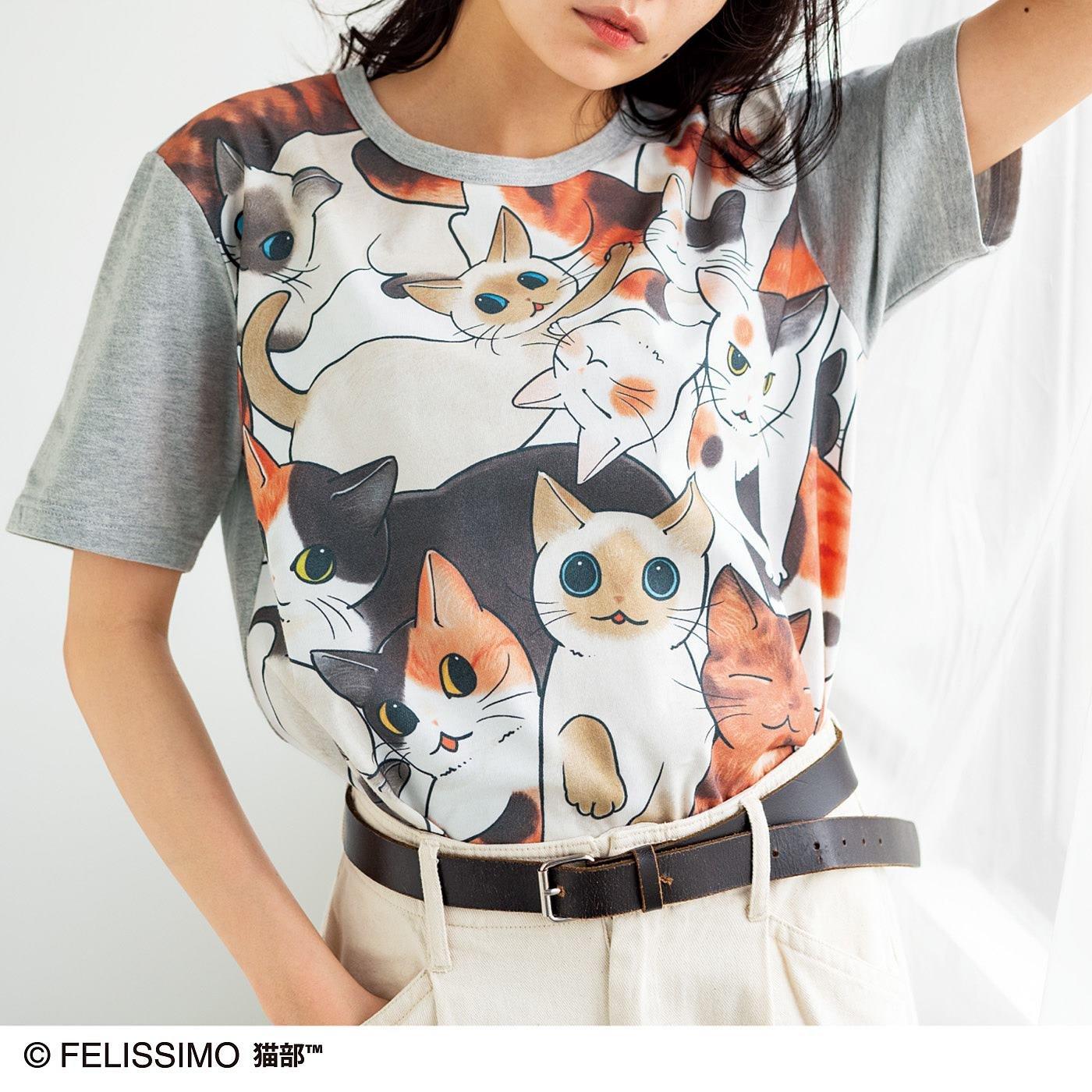 漫画家山野りんりんさんとつくった 猫好き猛アピールTシャツ フルカラーの会