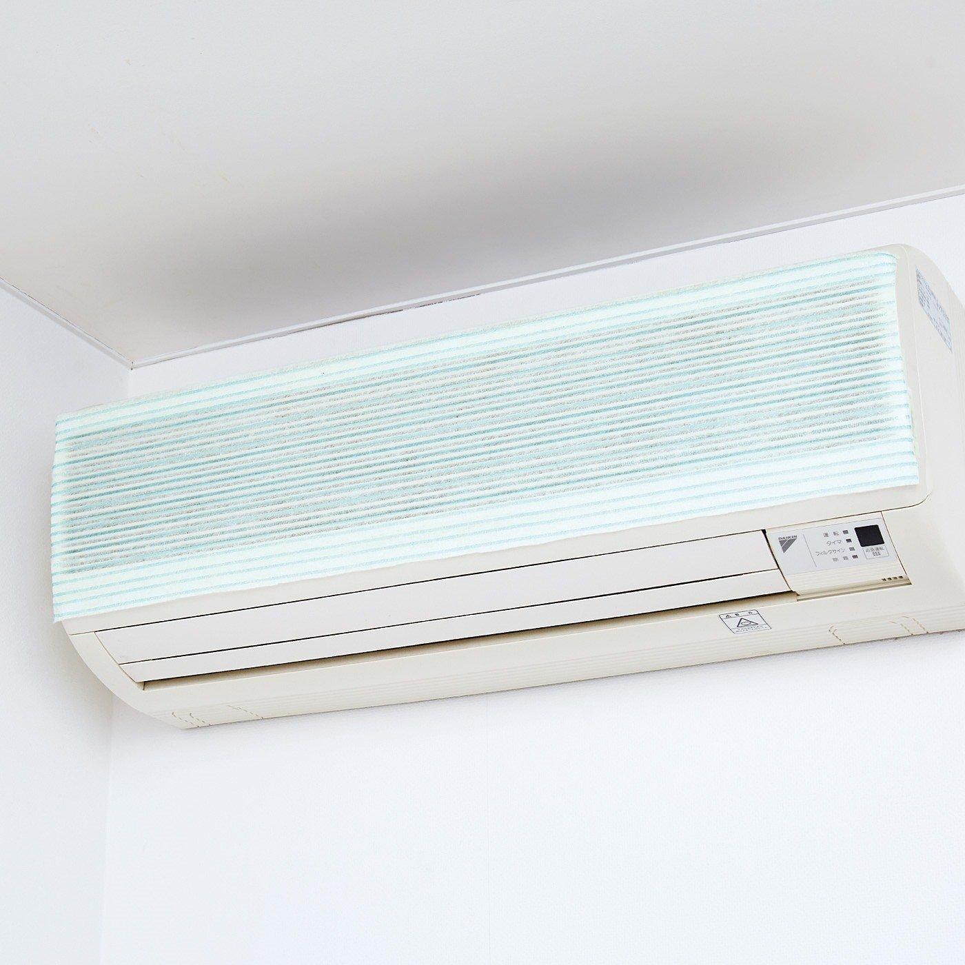 吸気口もフィルターも お掃除らくになる ほこり防止エアコンフィルター〈3枚セット〉の会