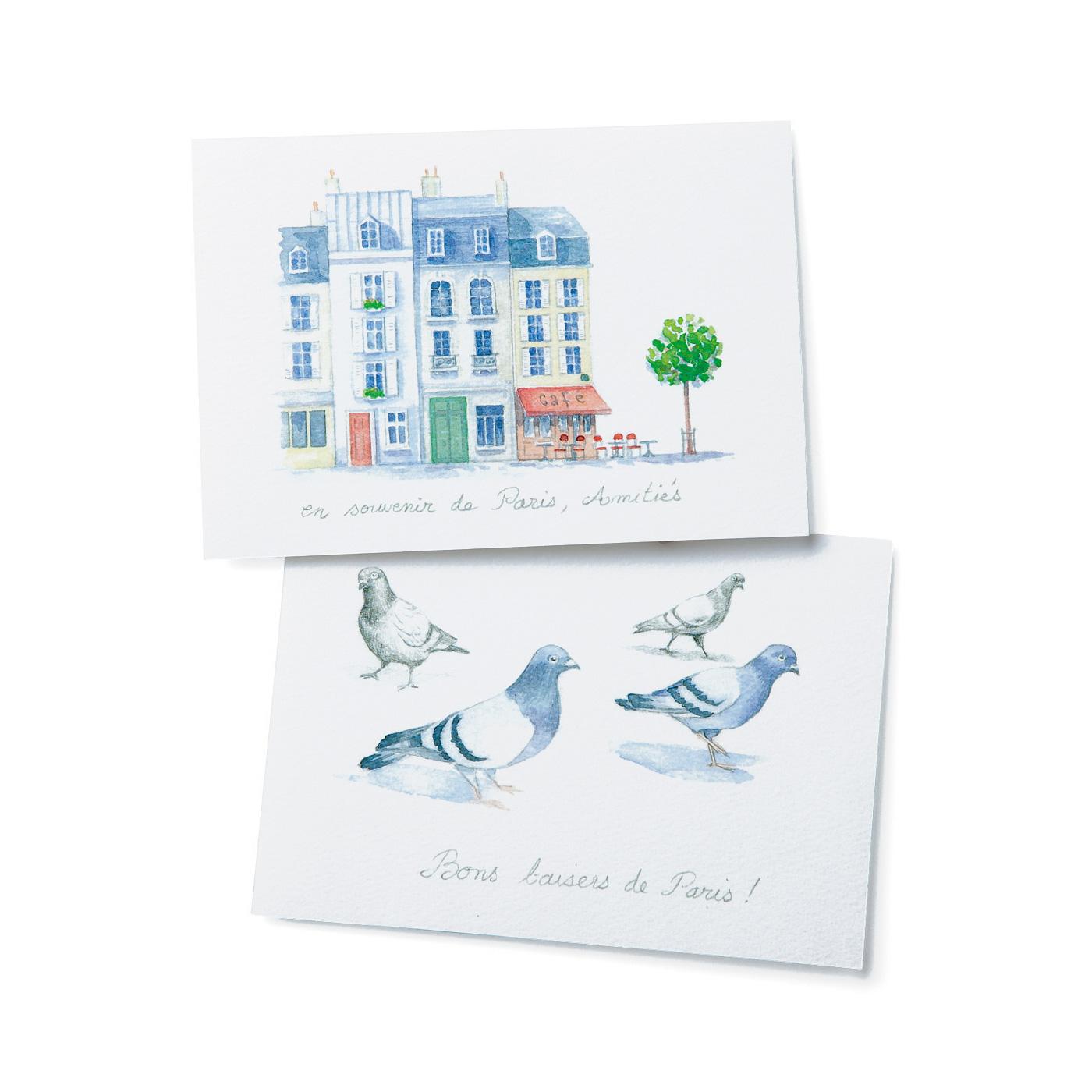 アンヌさんのオリジナルイラストのカード付き。