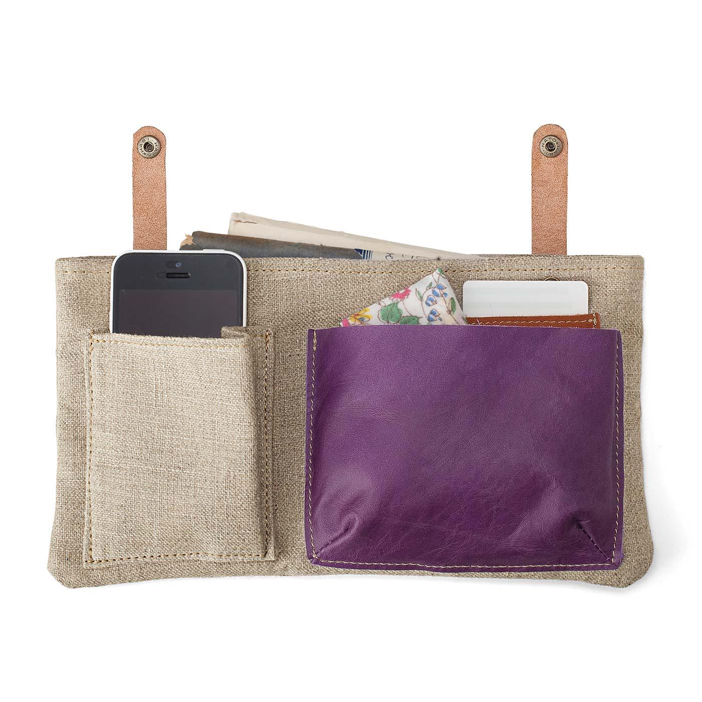 インナーポケットは取り外し可能だから、ほかのバッグへの付け替えもスムーズ。