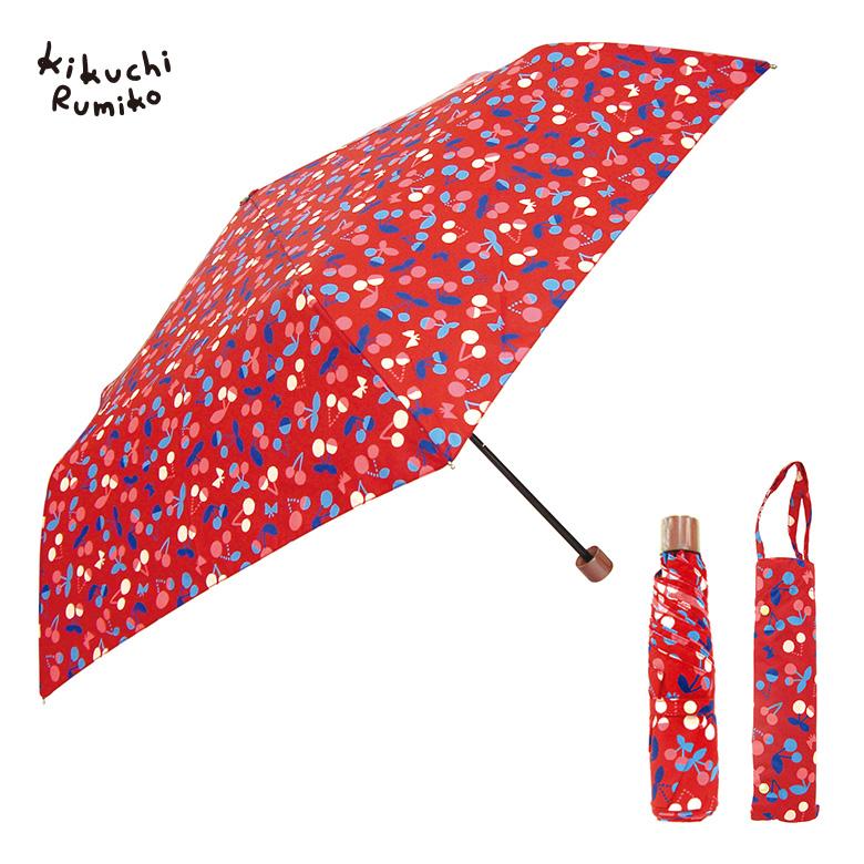 折りたたみ傘と収納できる傘袋付き。
